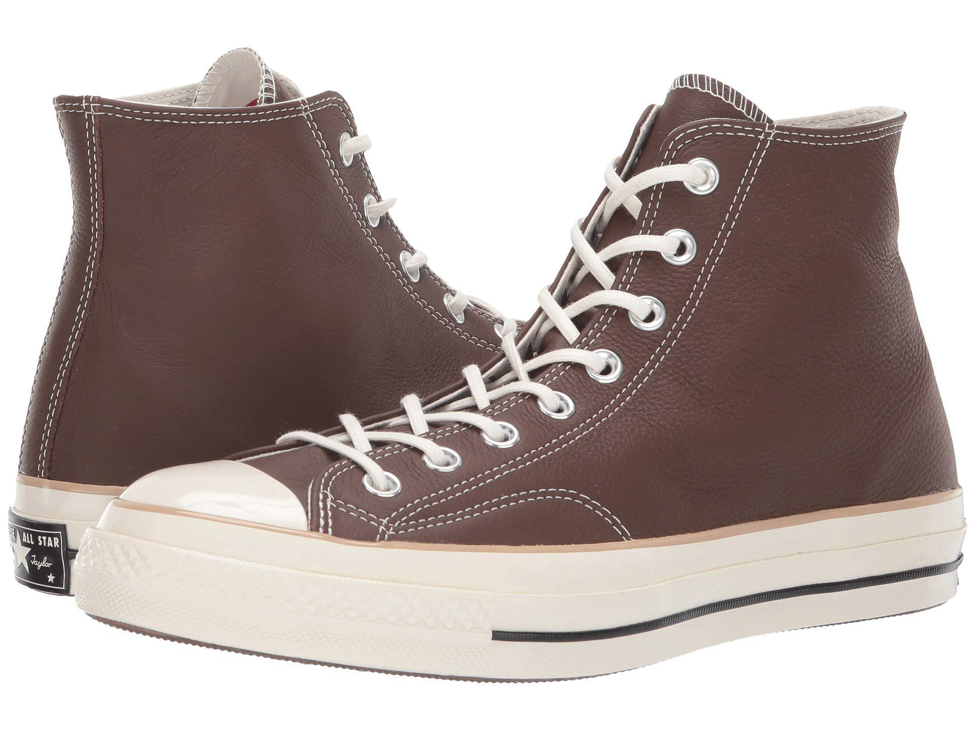 53c0b7829bb911 Lyst - Converse Chuck 70 Leather - Hi in Brown for Men