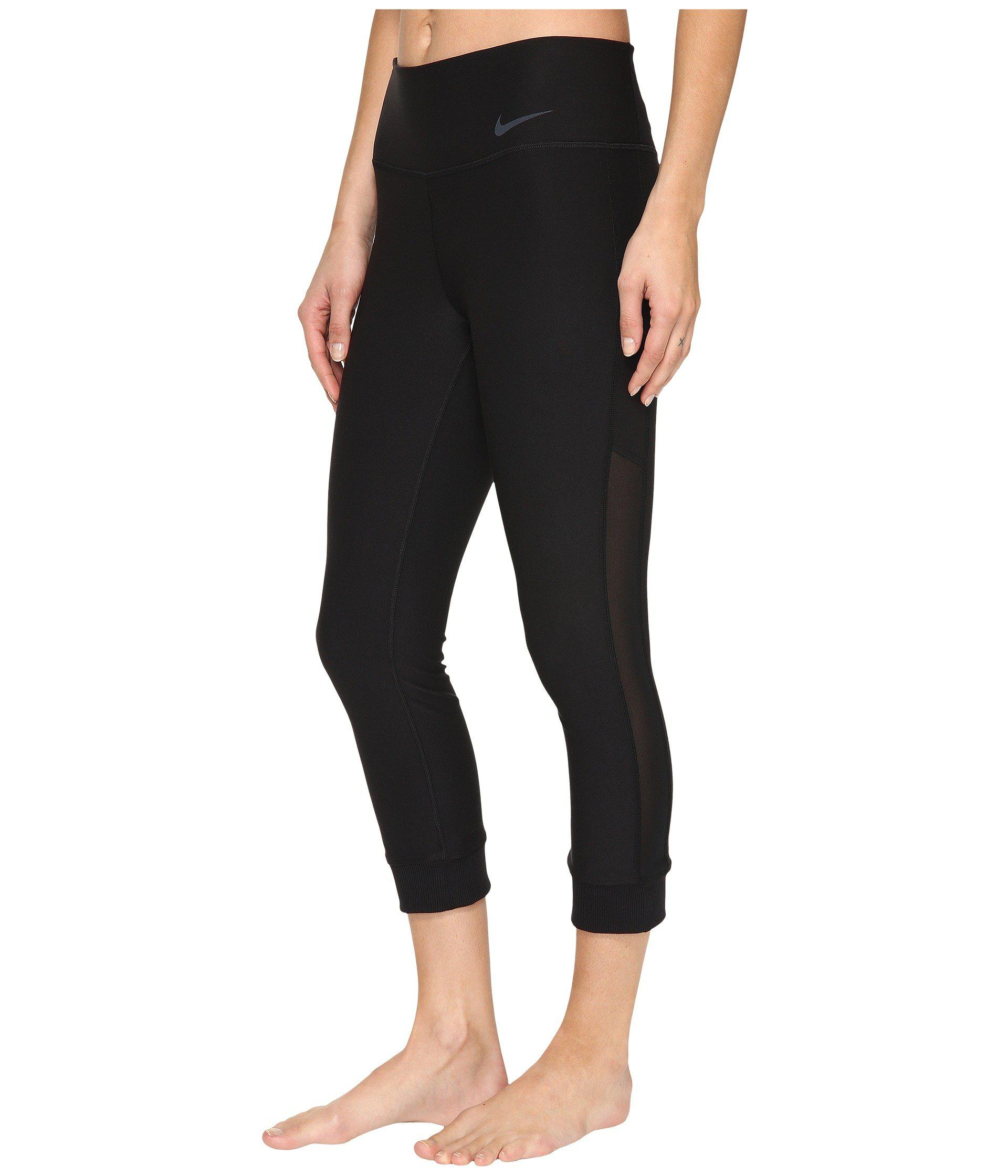 bfa5338c81661 Lyst - Nike Power Legend Veneer Training Capri in Black - Save 39%