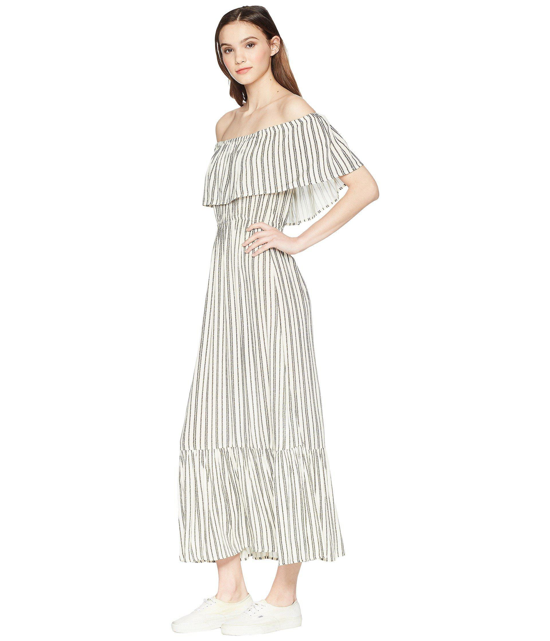 9dec499e8 Billabong Island Vibes Dress in White - Lyst