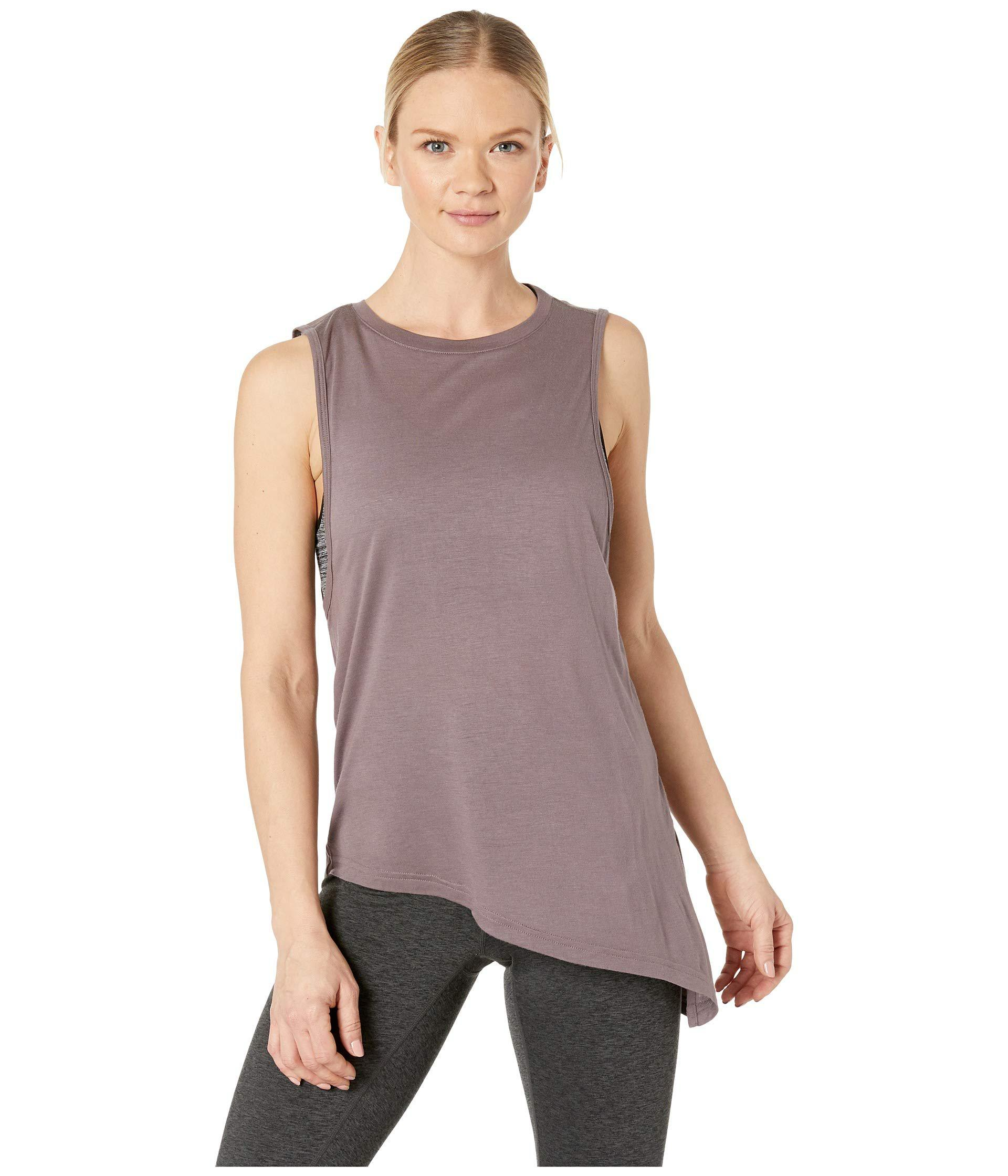 66f332889a81dd Lyst - Reebok Training Supply Muscle Tank Top in Gray