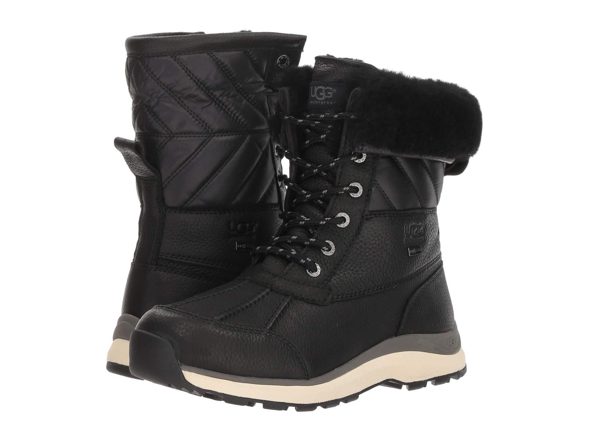 1682fa8c2d4 Lyst - UGG Adirondack Quilt Boot Iii in Black