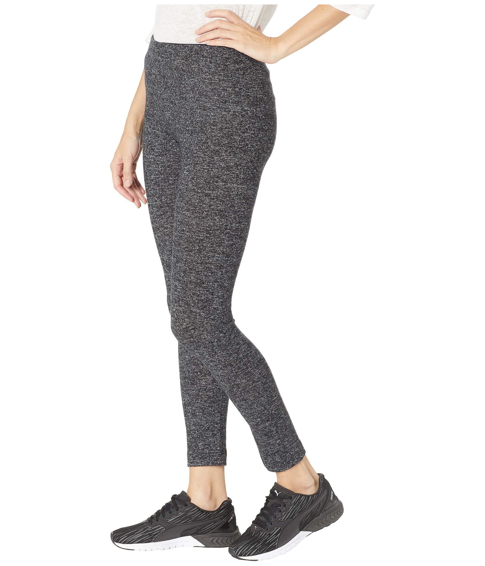 4f56304c0eda49 Lyst - Nally & Millie Brushed Leggings in Black - Save 17%