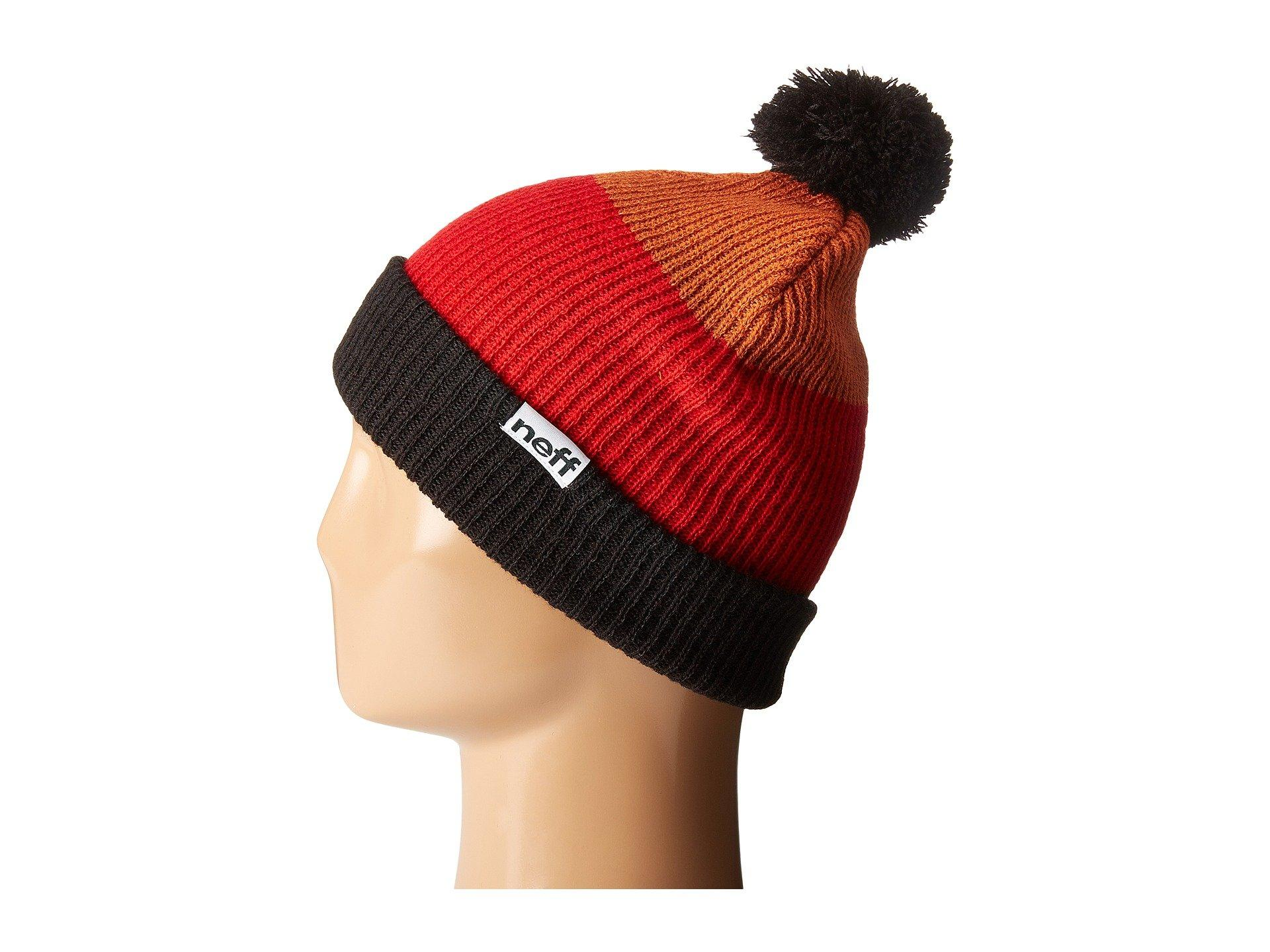 Lyst - Neff Snappy Beanie in Red for Men 175fb0d48ca