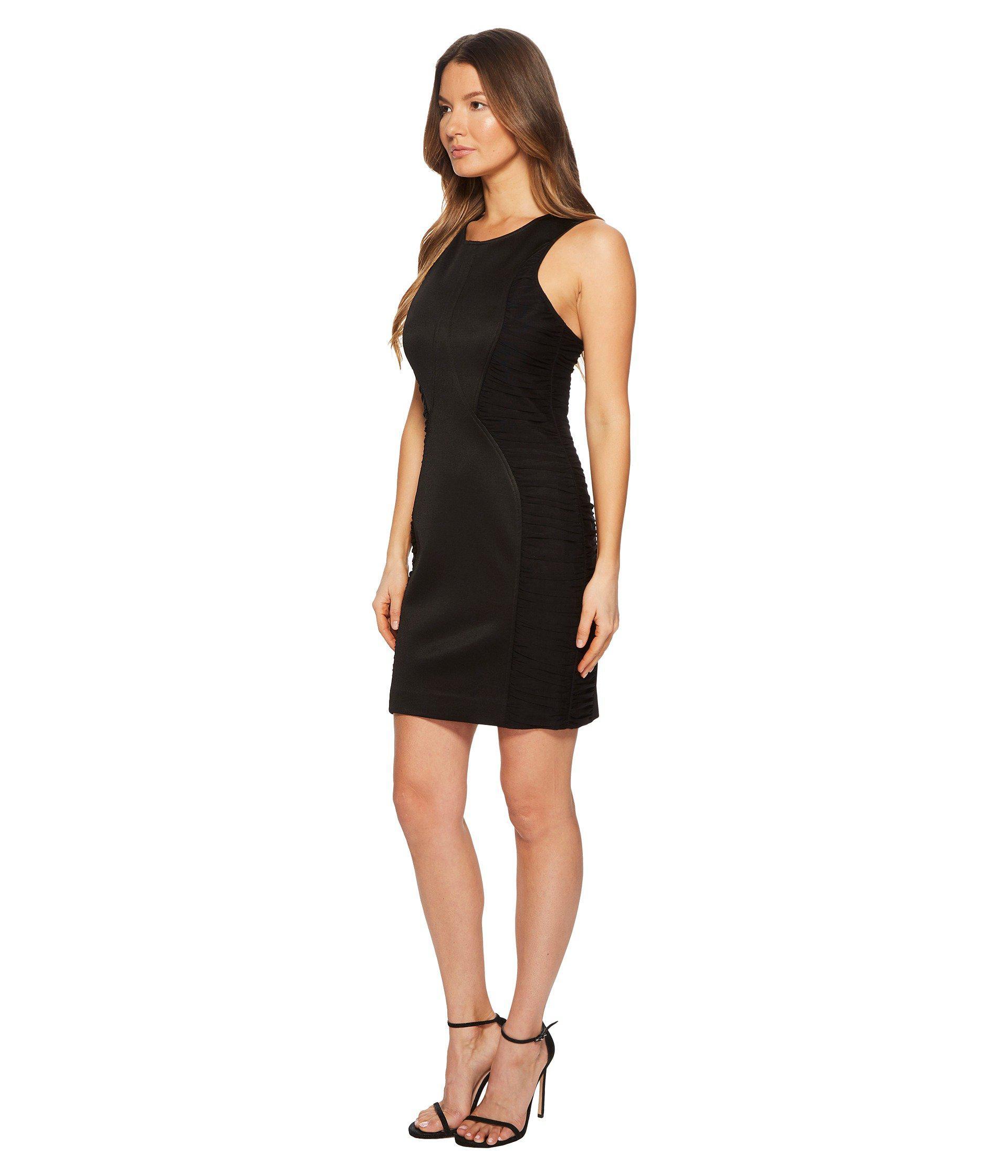 5c4265897433 Lyst - Versace Abito Donna Jersey Sleeveless Sheath Dress in Black - Save  55%