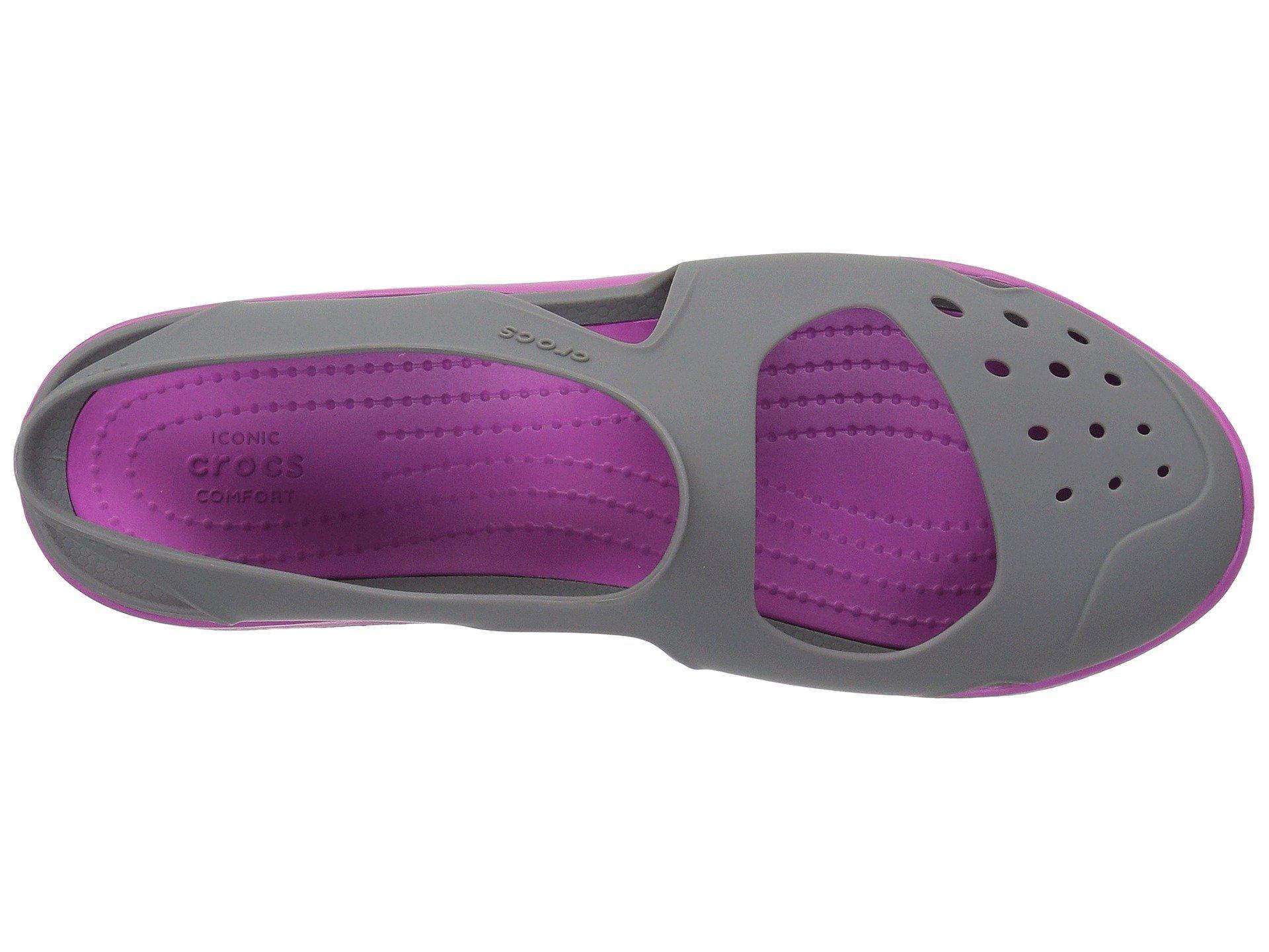 017bdac966fd5e Crocs™ - Purple Swiftwater Wave - Lyst. View fullscreen