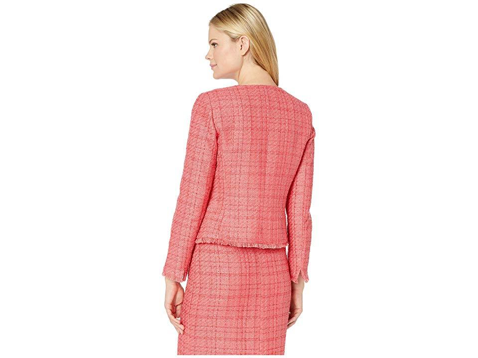694114ad1a2c Tahari - Pink Boucle Skirt Suit With Gold Finish Trim (coral) Suits Sets -.  View fullscreen