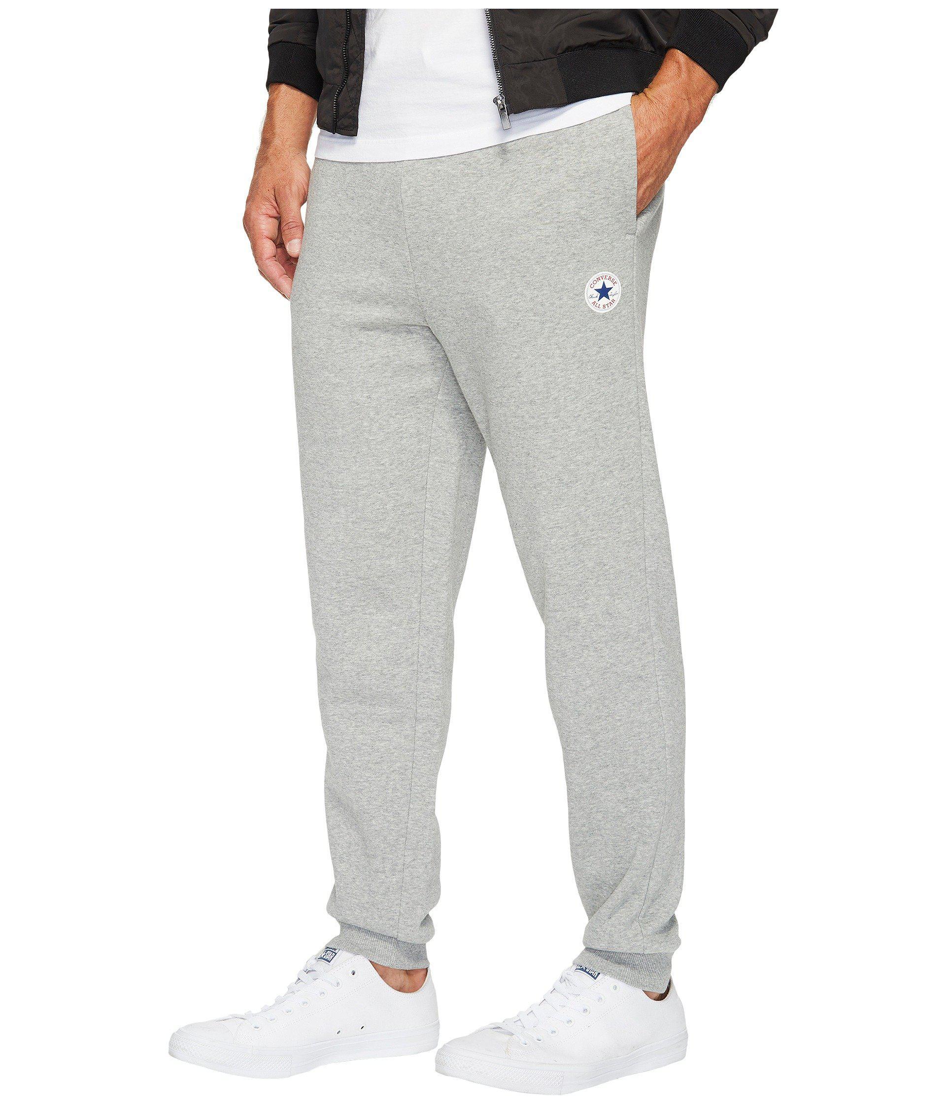 86d4dda9800920 Lyst - Converse Core Jogger in Gray for Men