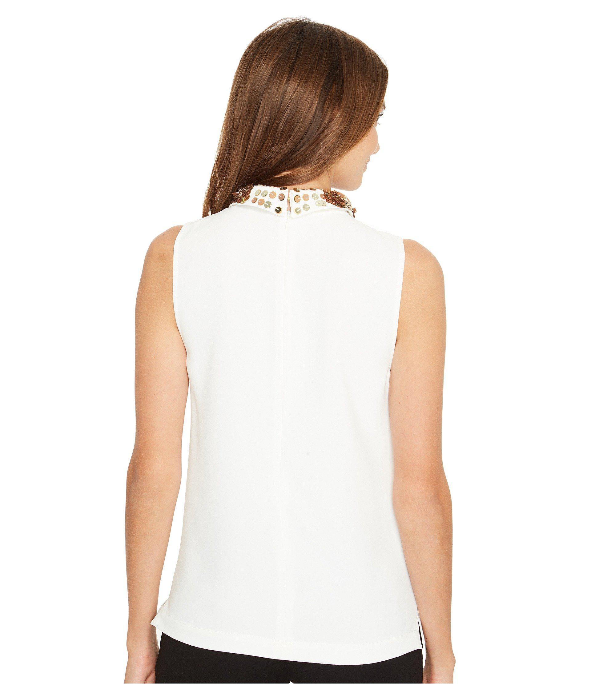 cbfec87ed5b7b2 Lyst - Trina Turk Amaranth 2 Top in White