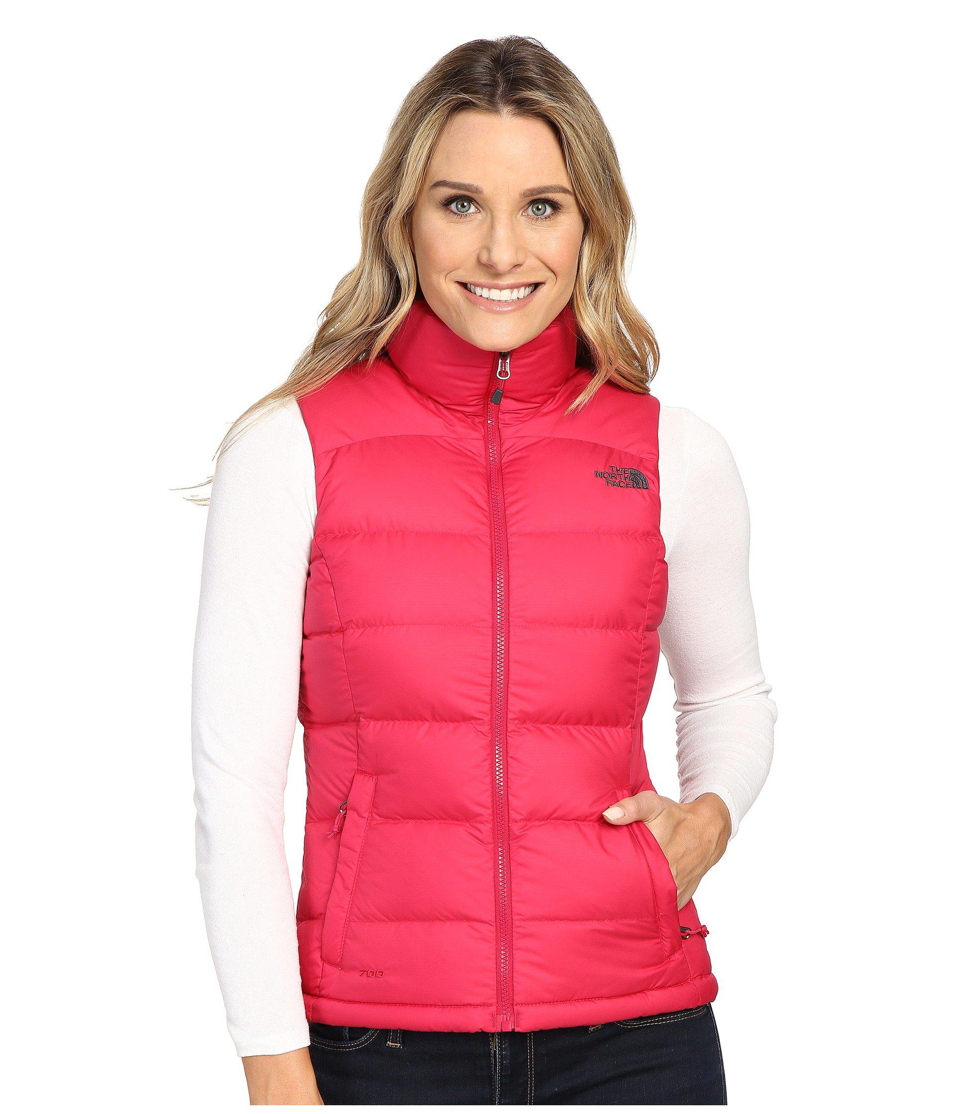 4c9a6549657f Lyst - The North Face Nuptse 2 Vest in Pink - Save 38%