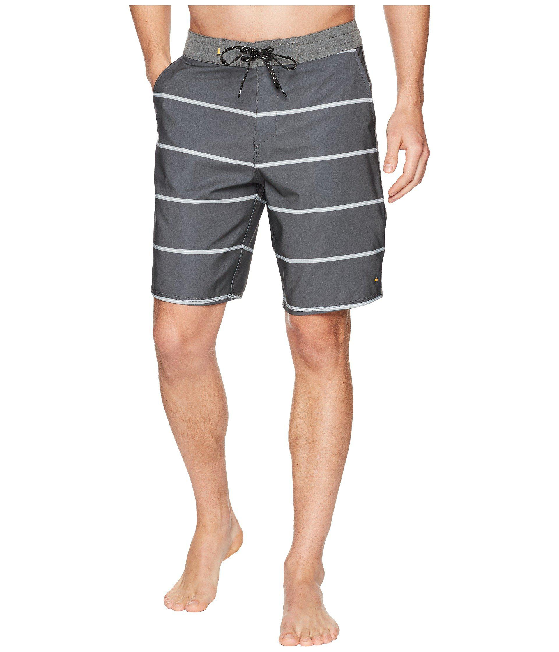 d1fb3362ed Lyst - Quiksilver Liberty Overboard Boardshorts in Gray for Men ...