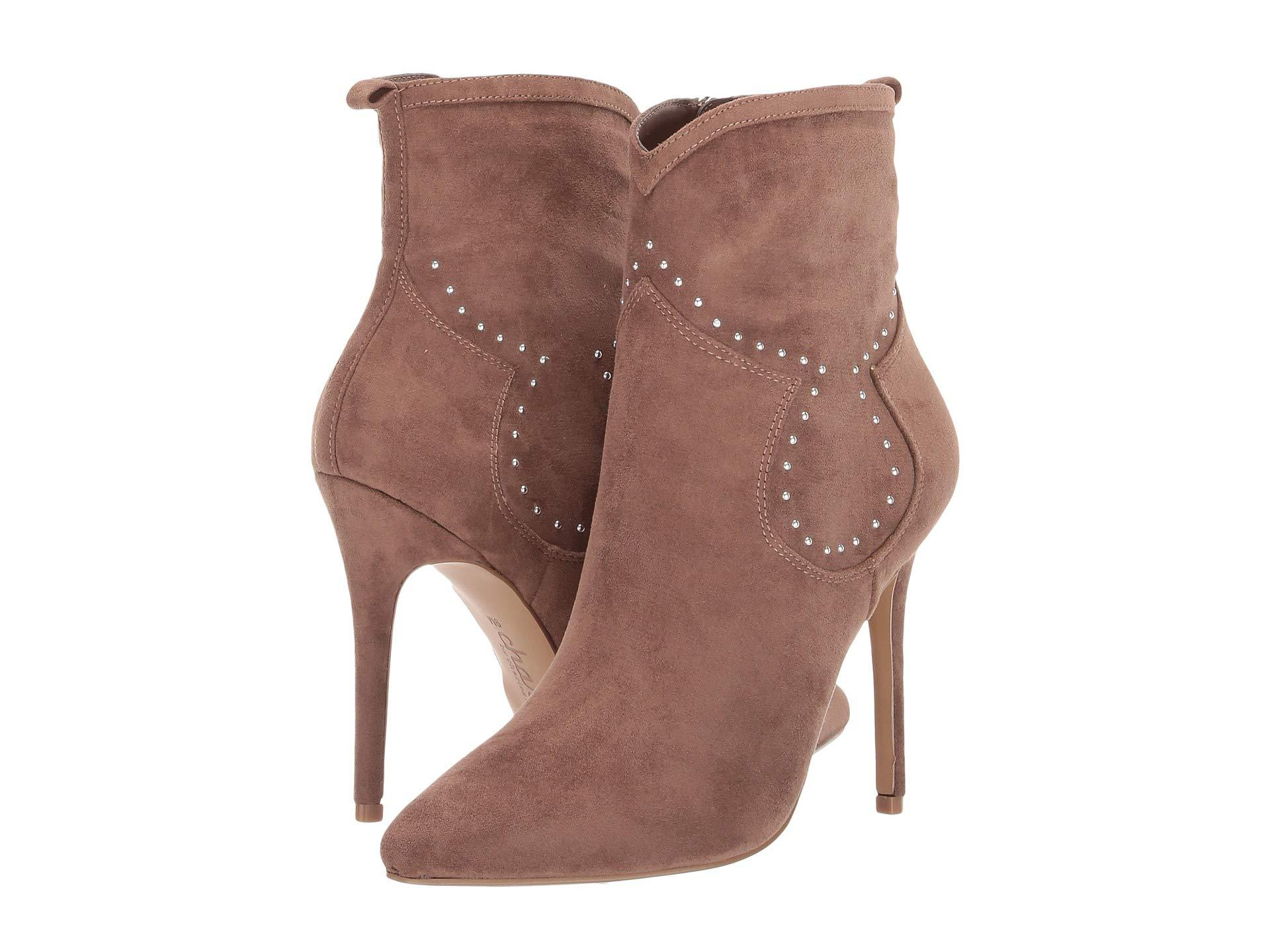 9fb0f1f2ab9 Lyst - Charles David Plot Ankle Bootie in Brown - Save 29%