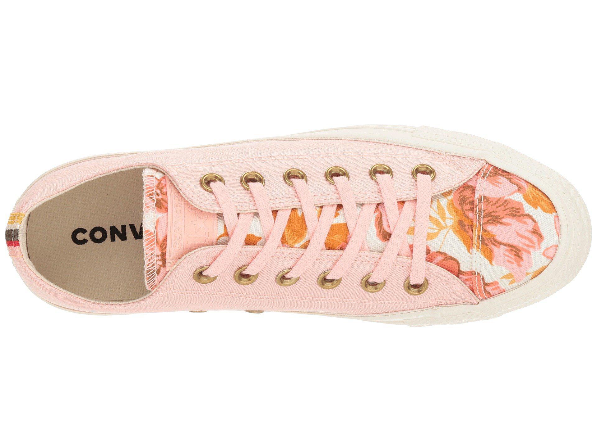 b9fd2e0f5b31 Converse - Pink Chuck Taylor All Star - Parkway Floral Ox - Lyst. View  fullscreen