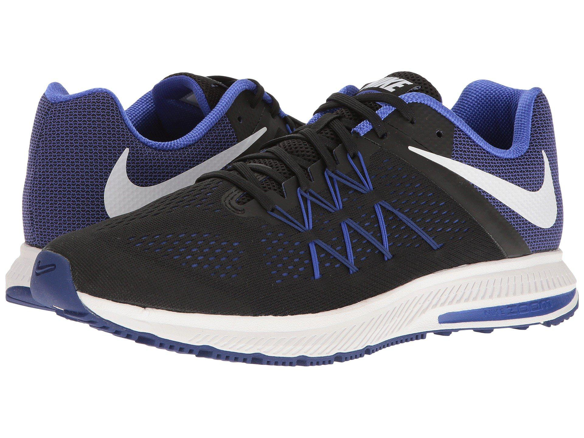 quality design d4160 5a6da new style lyst nike zoom winflo 3 in blue for men 338fa de0c1