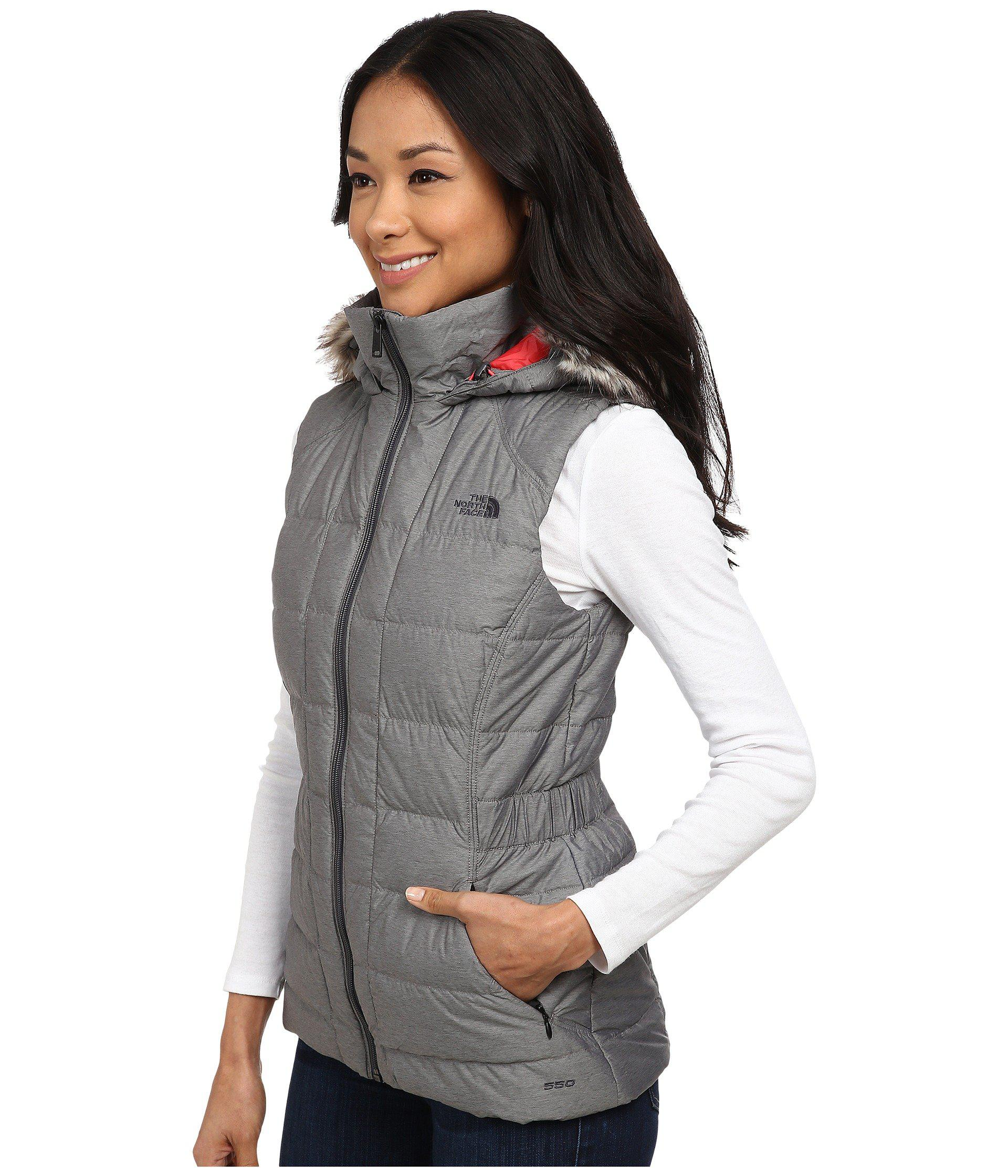 3994d5676c27 Lyst - The North Face Gotham Vest in Gray