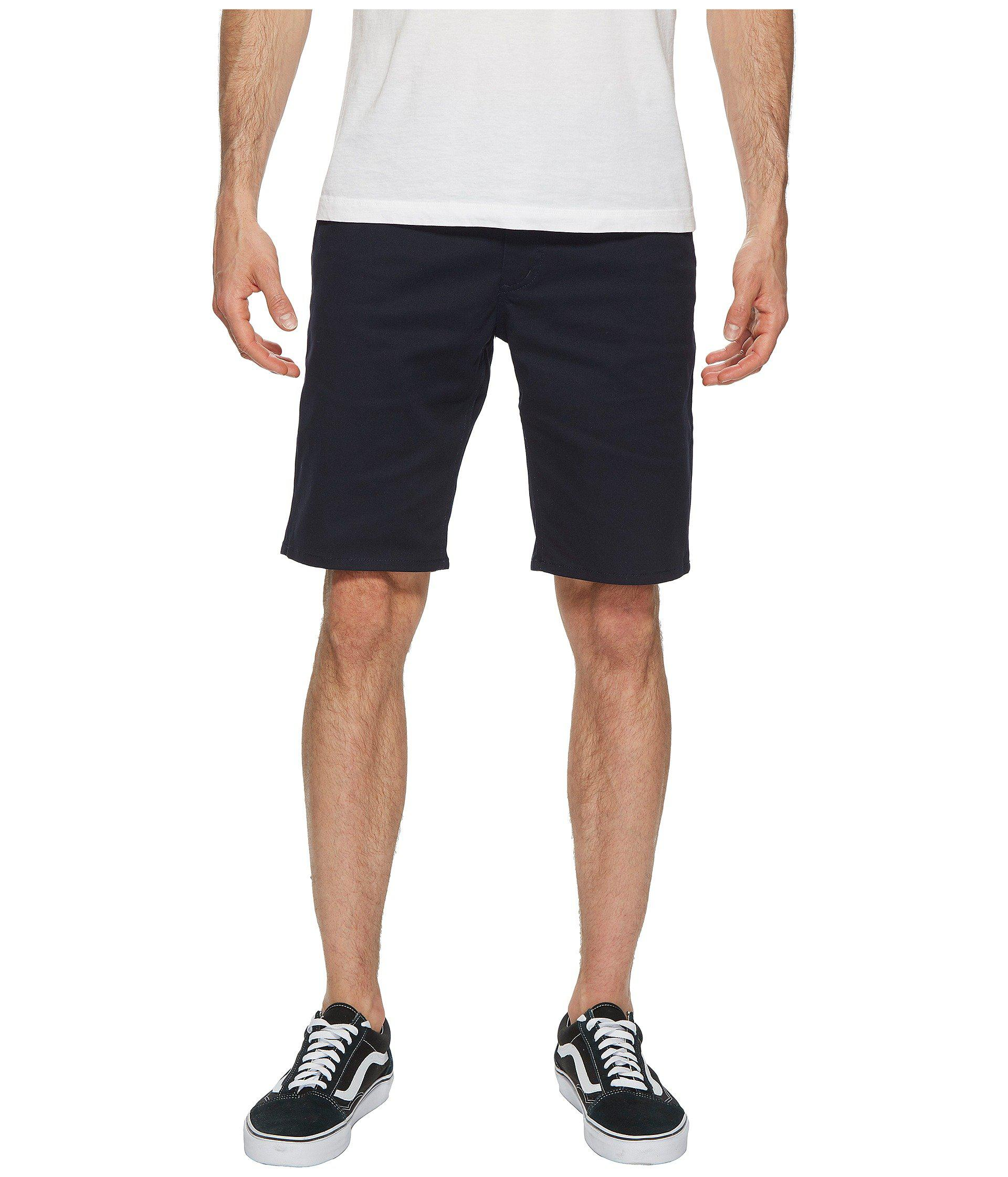 Lyst - Brixton Toil Ii Hemmed Shorts in Blue for Men - Save 24% cb016cbc8f3