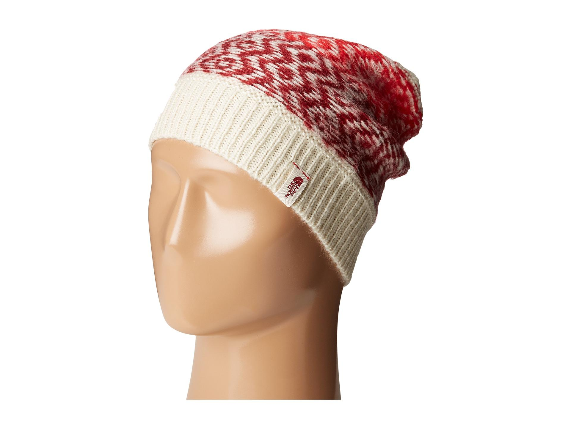 2a5ddf6159e Lyst - The North Face Tribe N True Beanie in Red