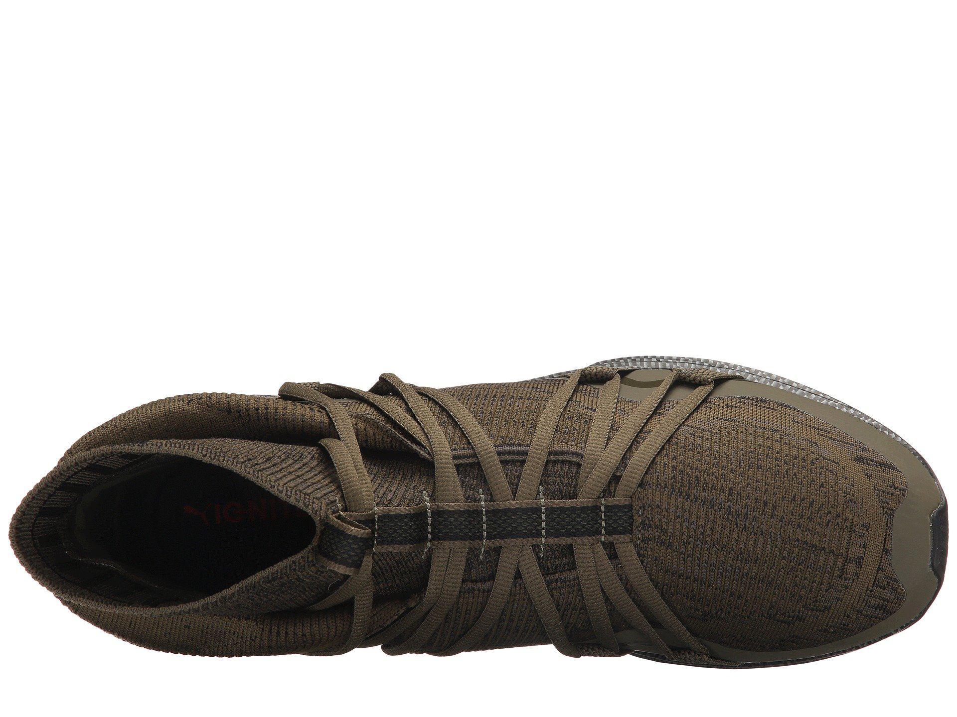 76d3b8cb3e52 Lyst - PUMA Ignite Evoknit Fold Cf in Black for Men - Save 22%