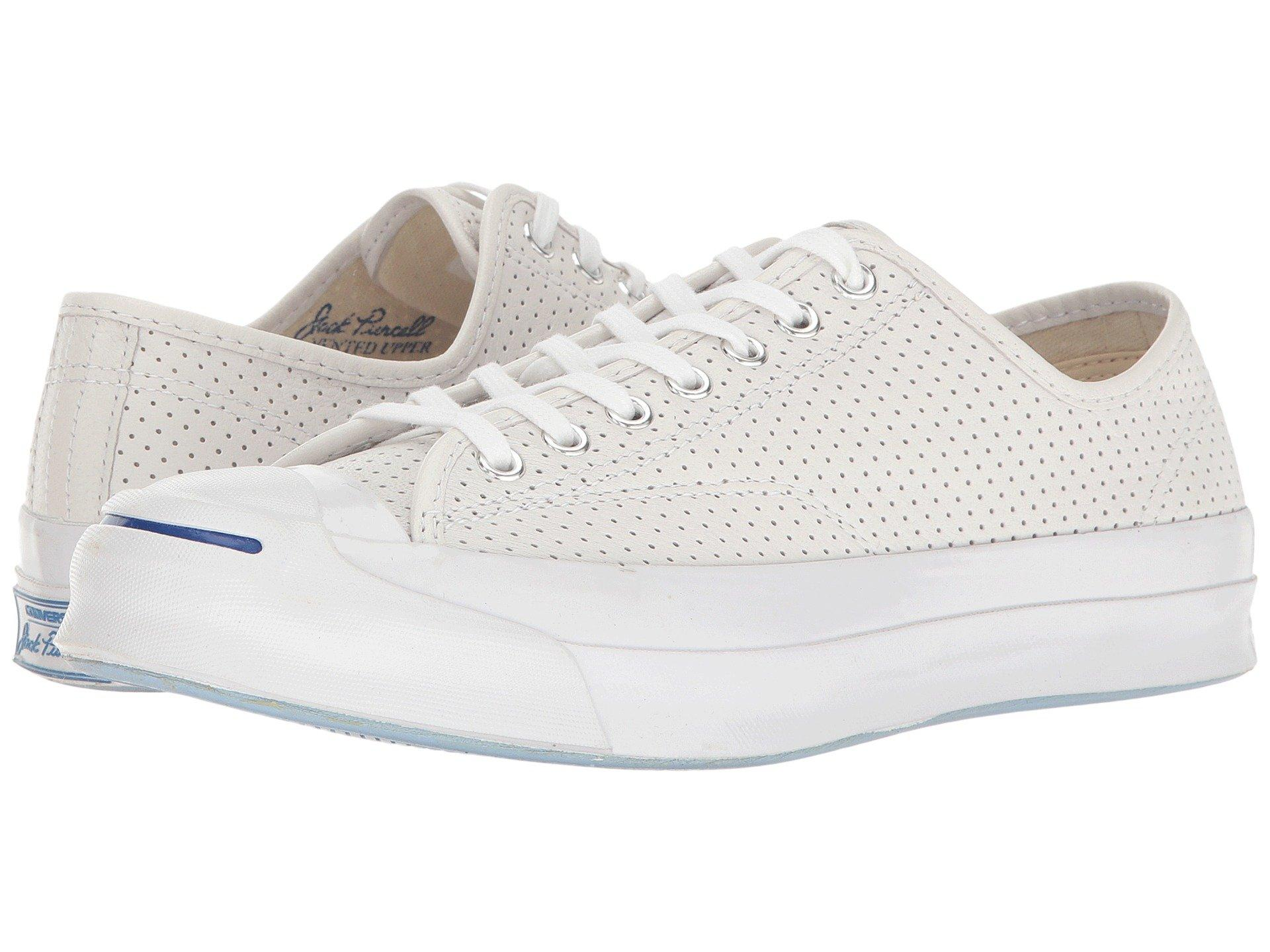 bcc4d78b3e14 Lyst - Converse Jack Purcell® Signature Perf d Goat Leather Ox in ...