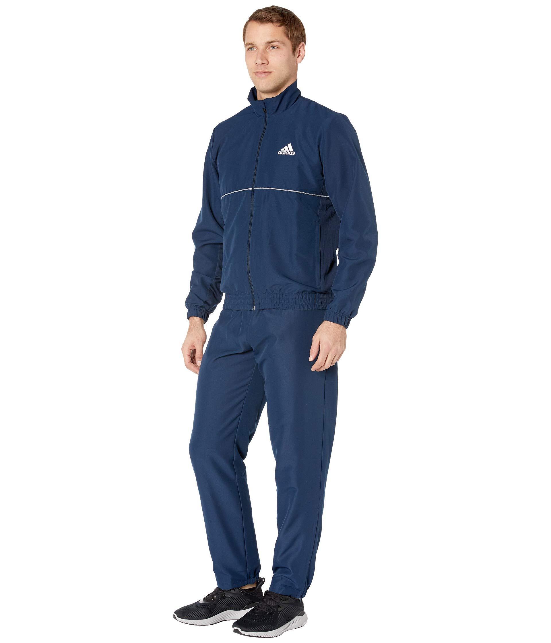 2af947a02db9 Lyst - adidas Club Tracksuit in Blue for Men