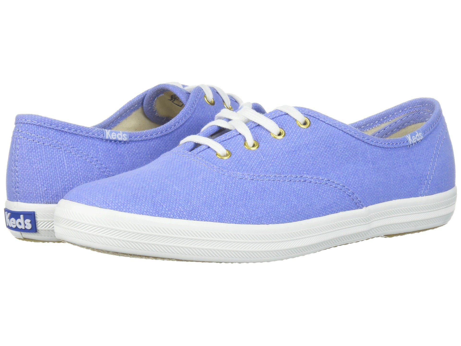 ce832a4b735d Lyst - Keds Champion Chalky Canvas in Blue - Save 44%