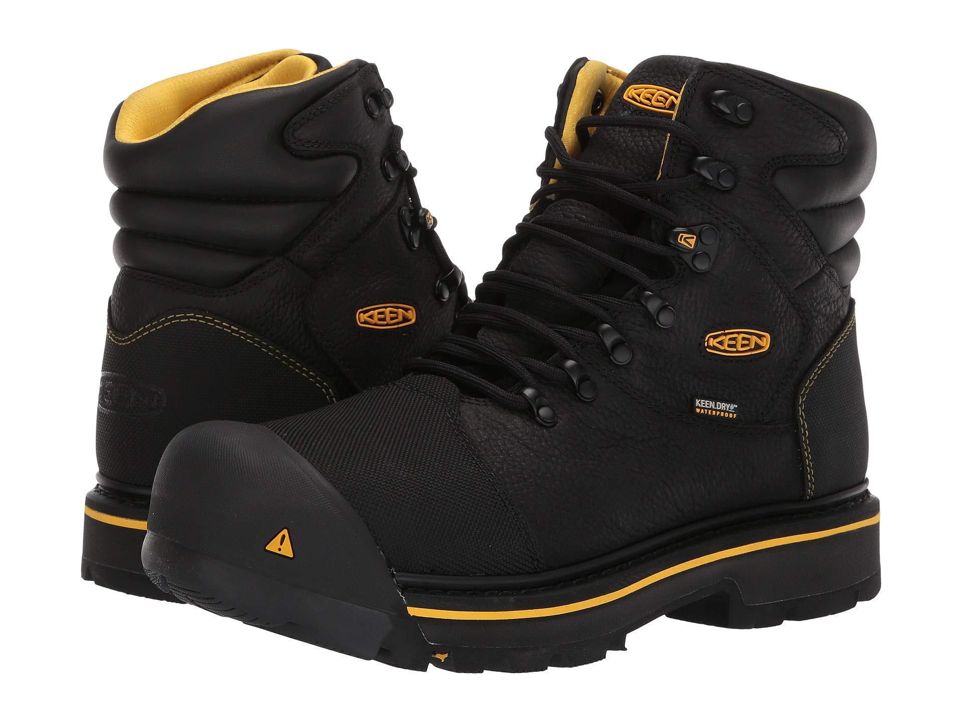 7a0d4ee7045 Lyst - Keen Utility Fort Mac Waterproof in Black for Men