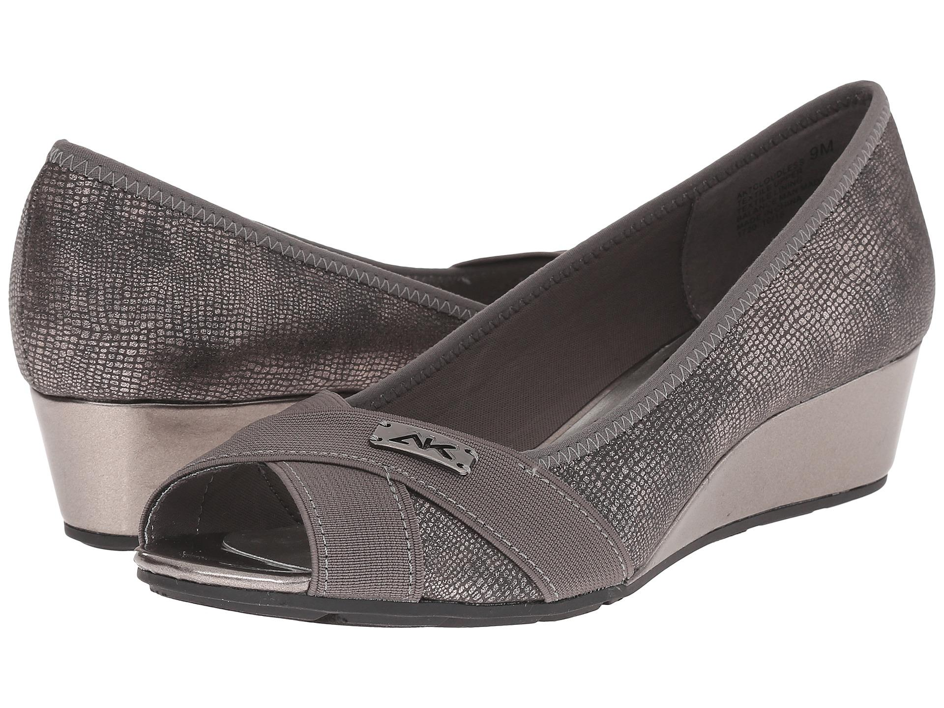 Womens Shoes Anne Klein 7Cloudless Pewter