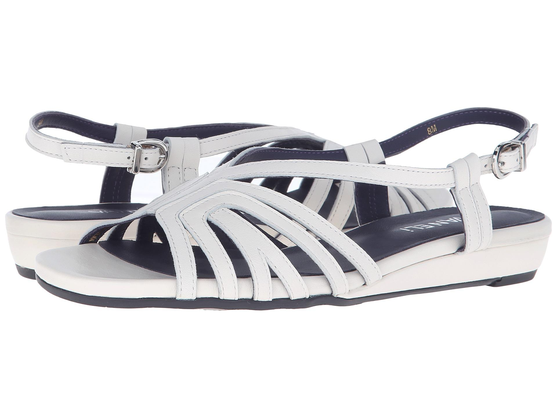 Womens Sandals Vaneli Bitya White Nappa