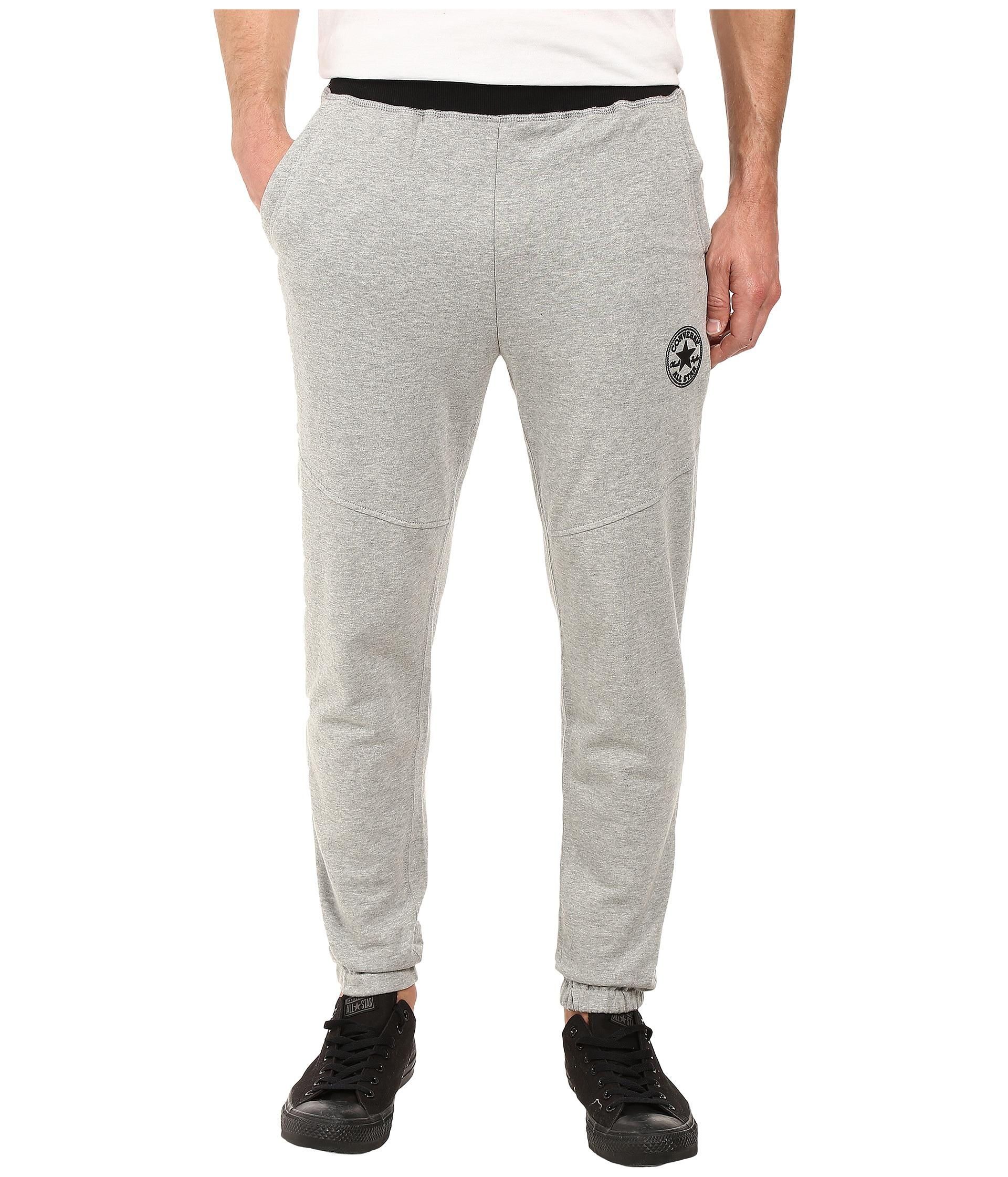 e439de8c0503 Lyst - Converse Color Block Jogger Pants in Gray for Men
