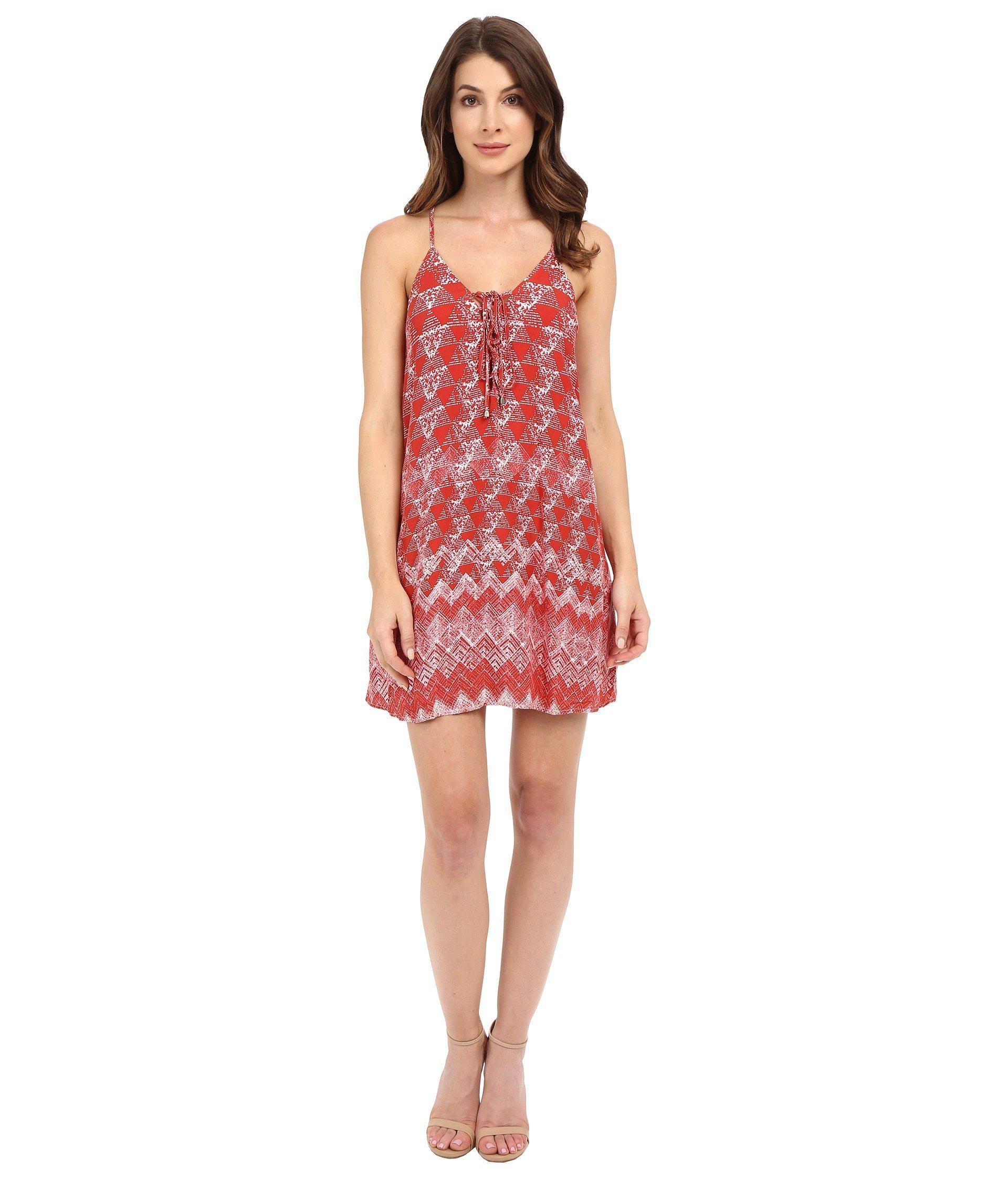 a51291b6ab1 Lyst - Brigitte Bailey Hadley Cami Dress in Red