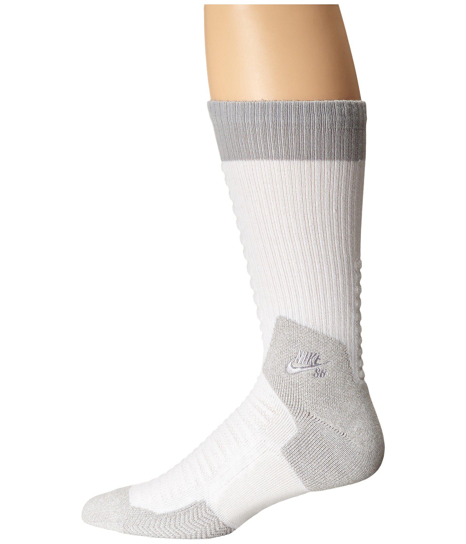 newest 20a1f c1e6e Nike. Men s Gray Skate Crew 2.0 Sock