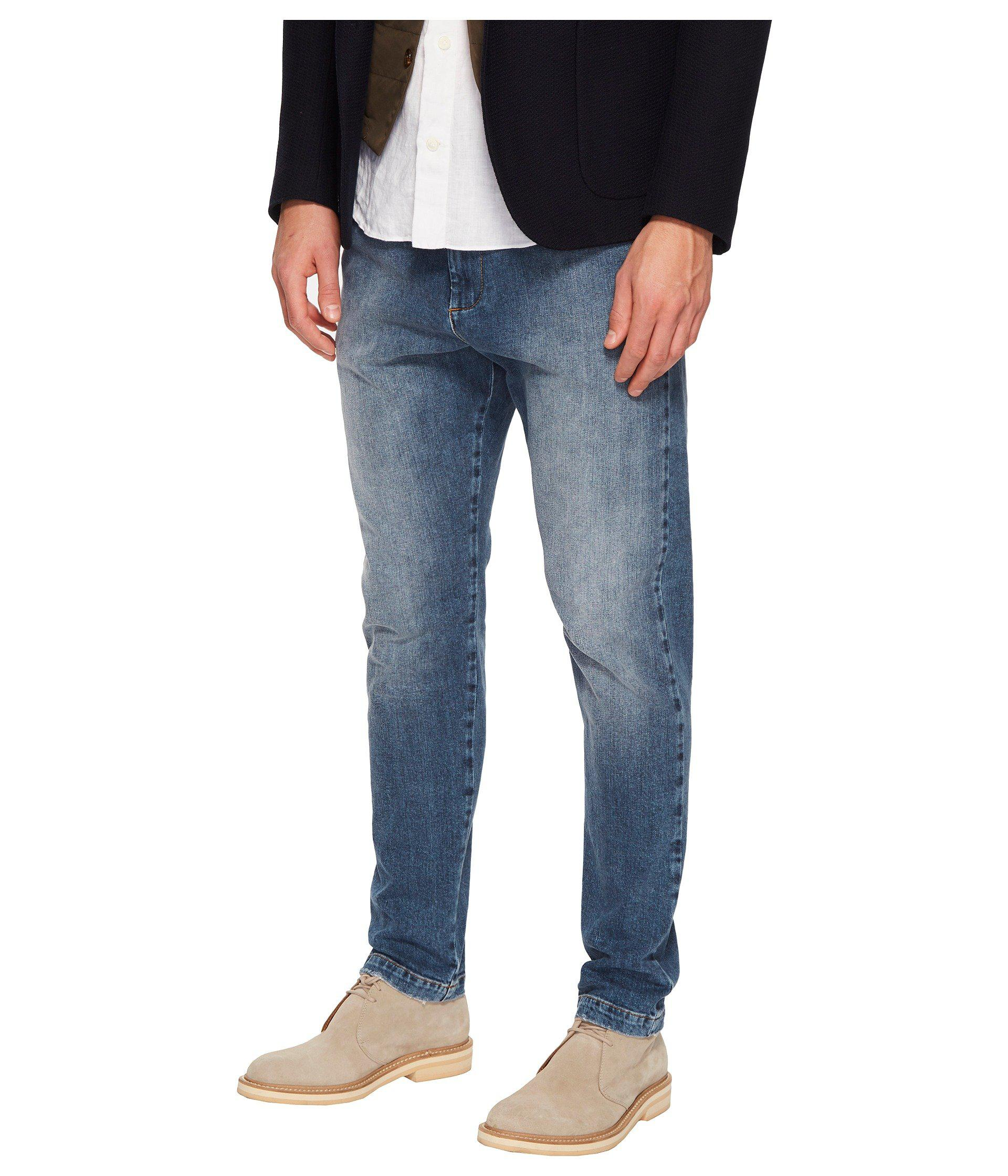 9050735f Lyst - Eleventy Cotton Stretch Jogger Jeans In Denim in Blue for Men