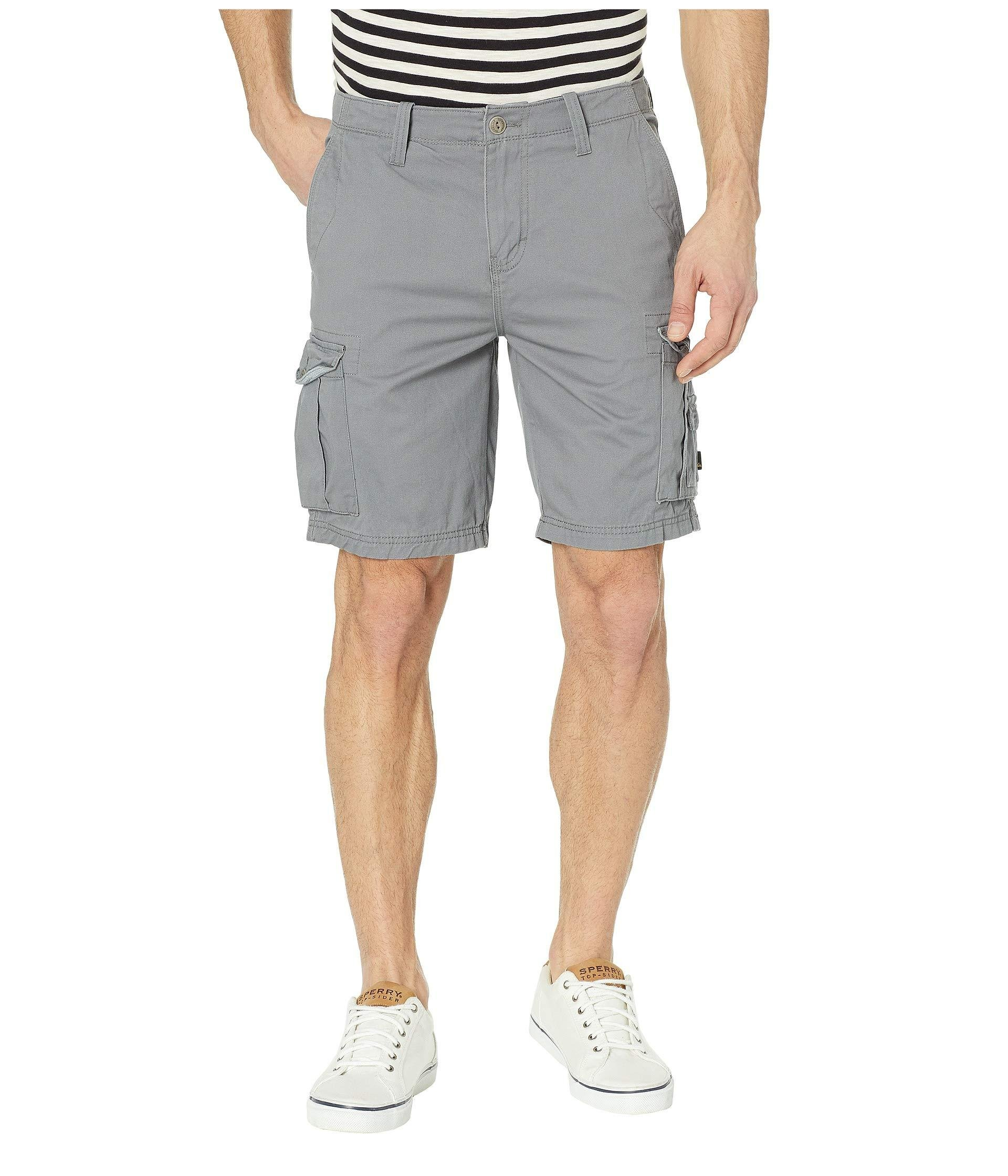 12ca02c7b7 Lyst - Quiksilver Crucial Battle Cargo Shorts in Gray for Men - Save 9%