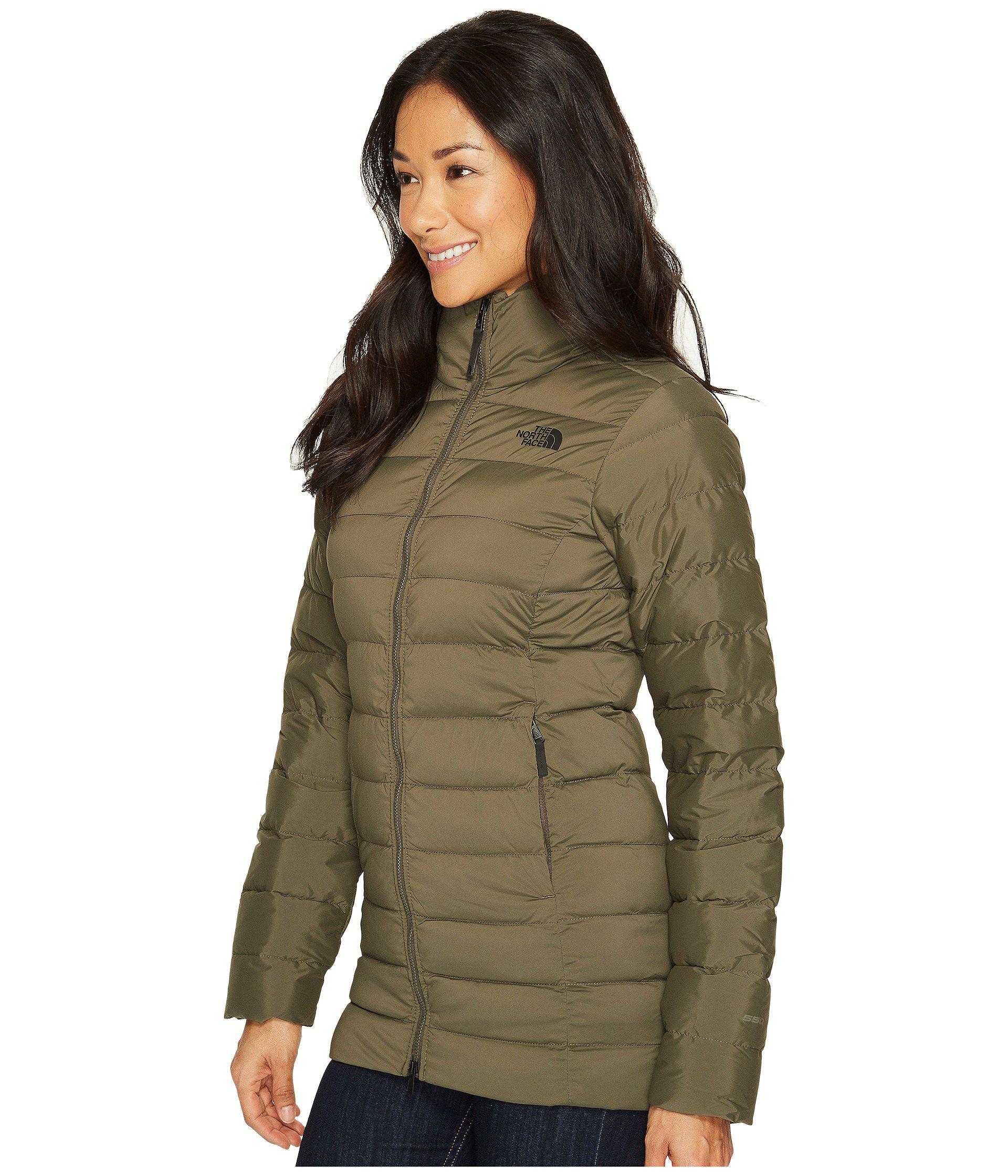Lyst - The North Face Stretch Down Parka in Green - Save 29% c7dfa09ba