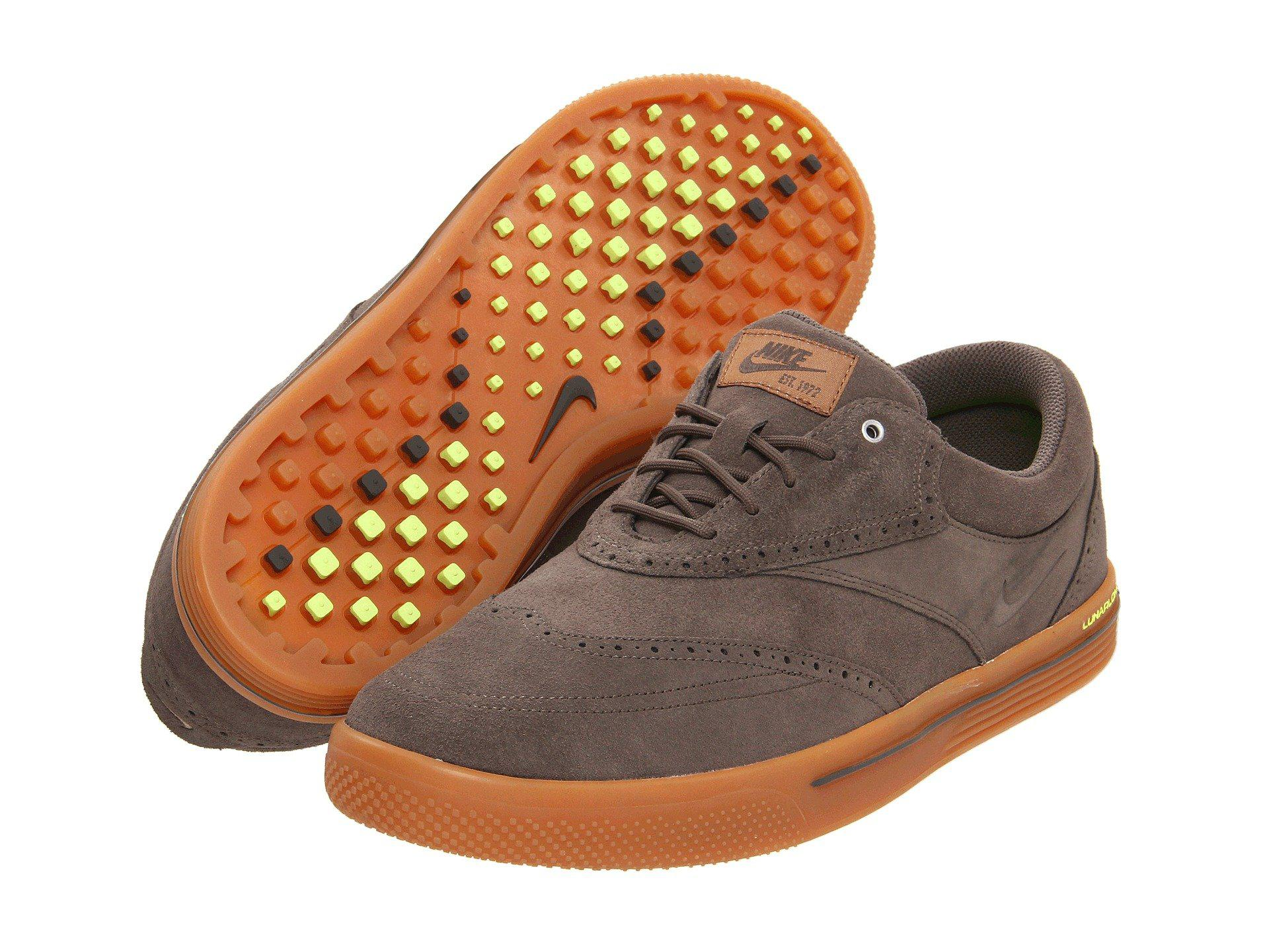 new style a2406 0aab2 Lyst - Nike Lunar Swingtip - Suede for Men ...