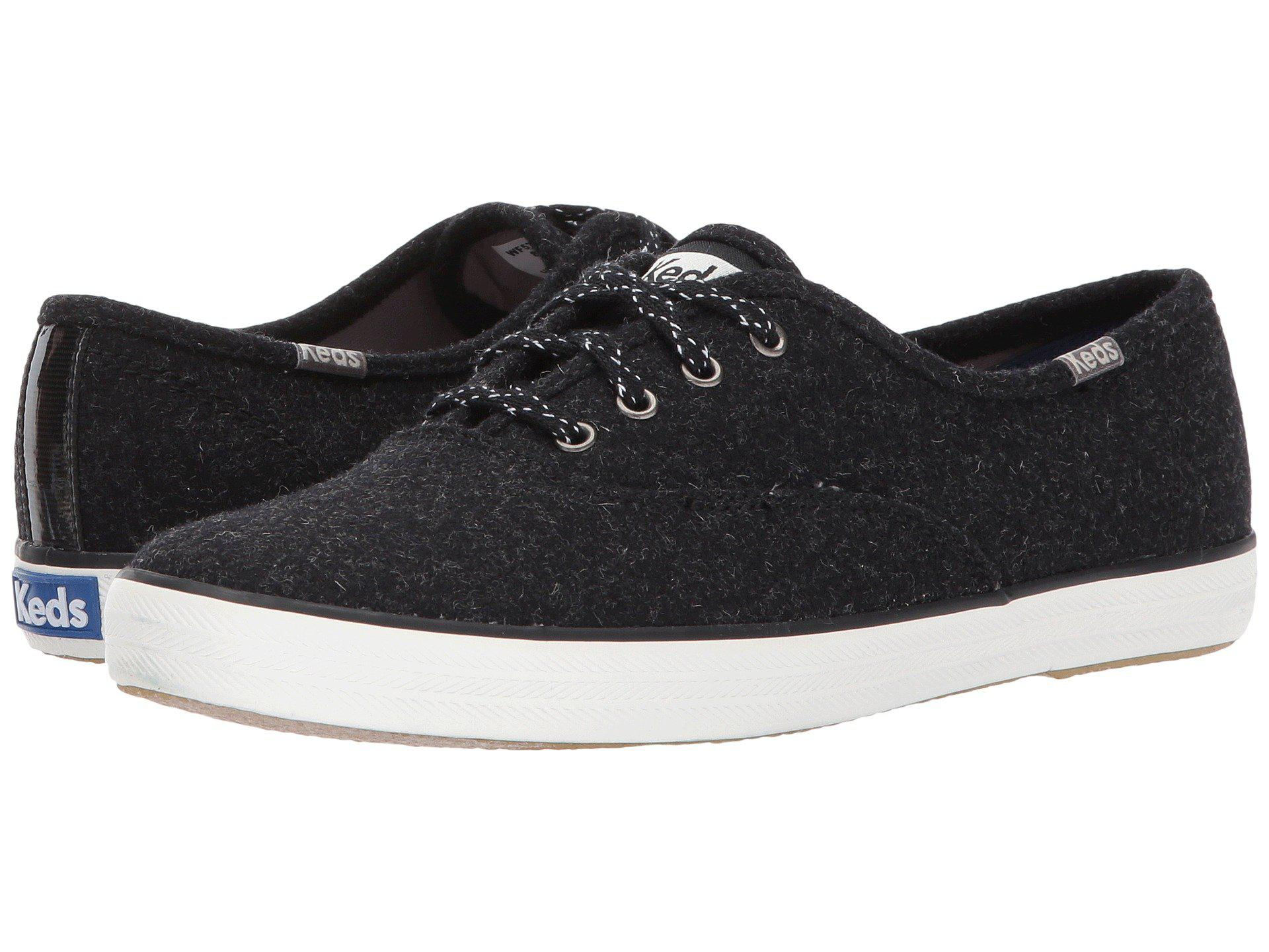 381d959510a Lyst - Keds Champion Wool in Black