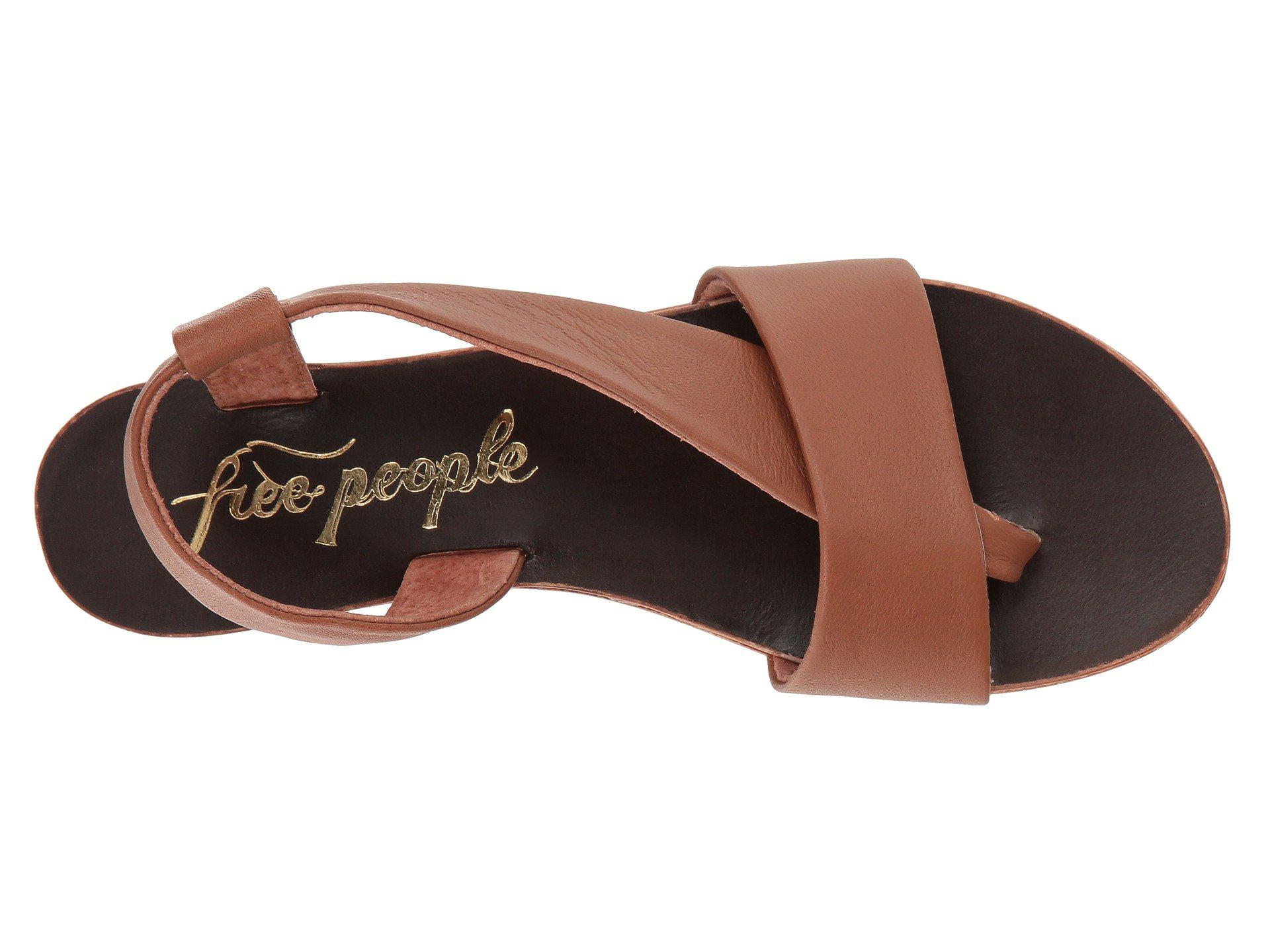 009dd87c5 Free People - Brown Under Wraps Sandal - Lyst. View fullscreen