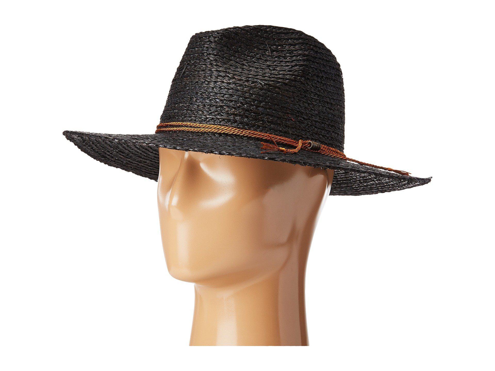 5b7bf8a6180ec Lyst - Brixton Sandoz Hat in Black
