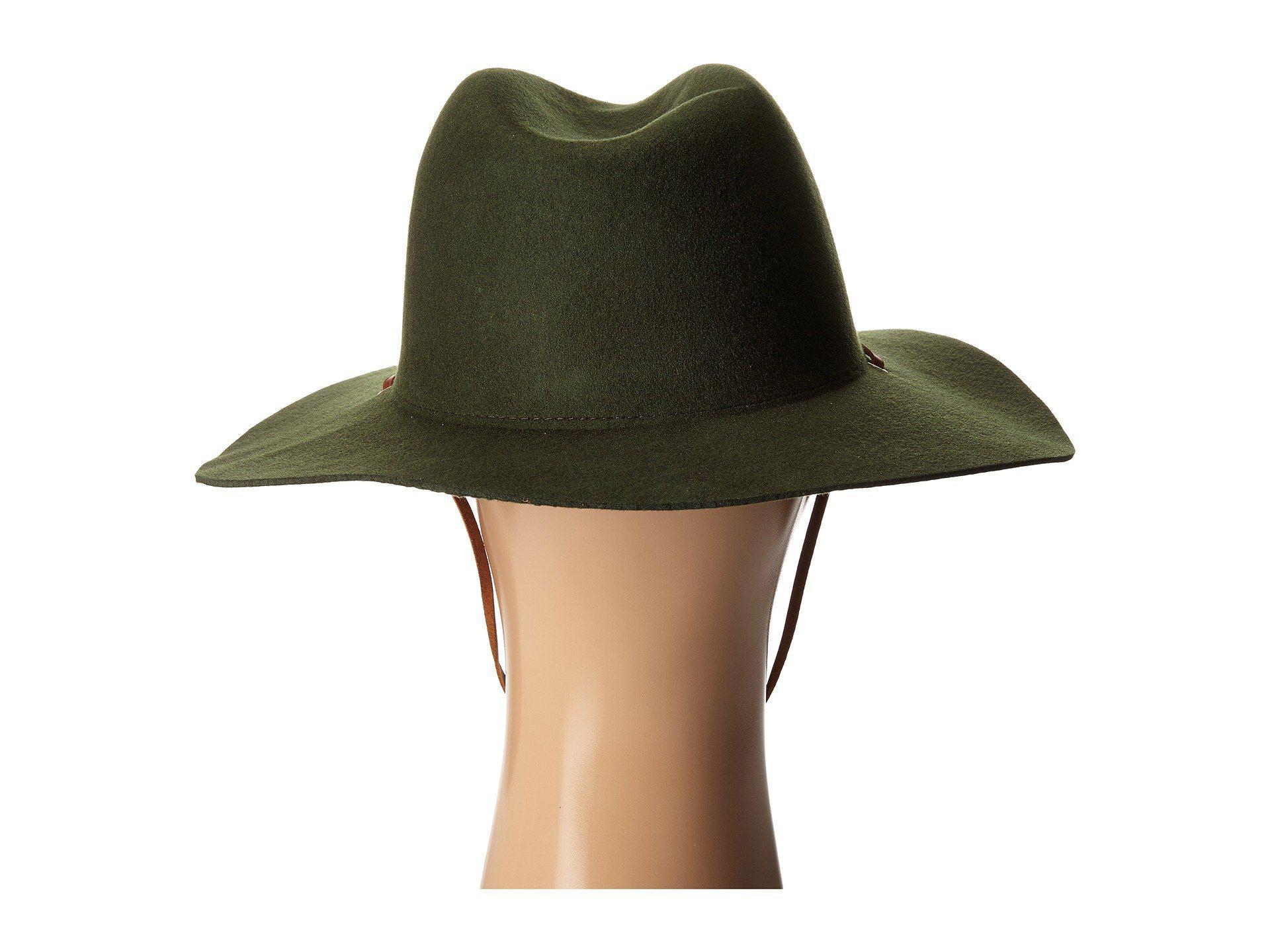 78909e2568e35 Lyst - Brixton Mayfield Ii Hat in Green