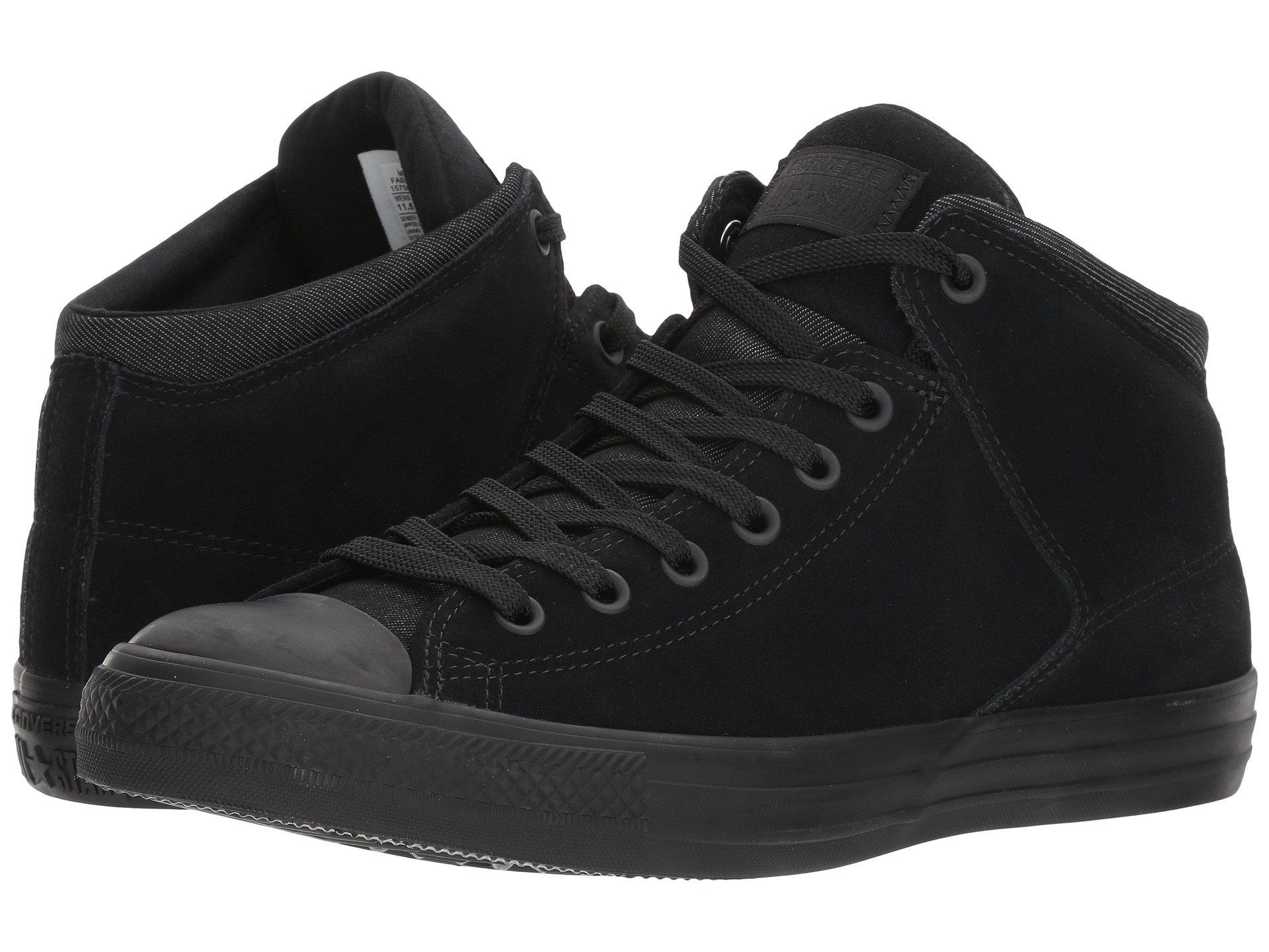 Lyst - Converse Chuck Taylor® All Star® High Street Thermal Suede Hi ... 2412cd8e9