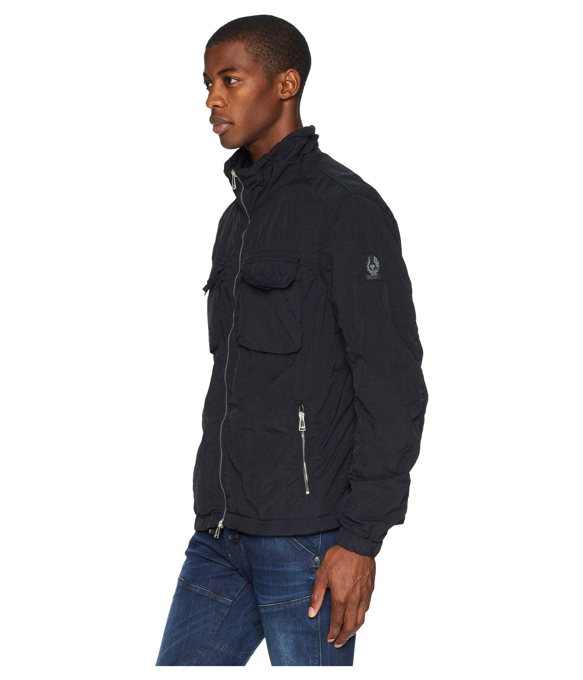 af666396e443 Lyst - Belstaff Pendeen Nylon Jacket in Black for Men