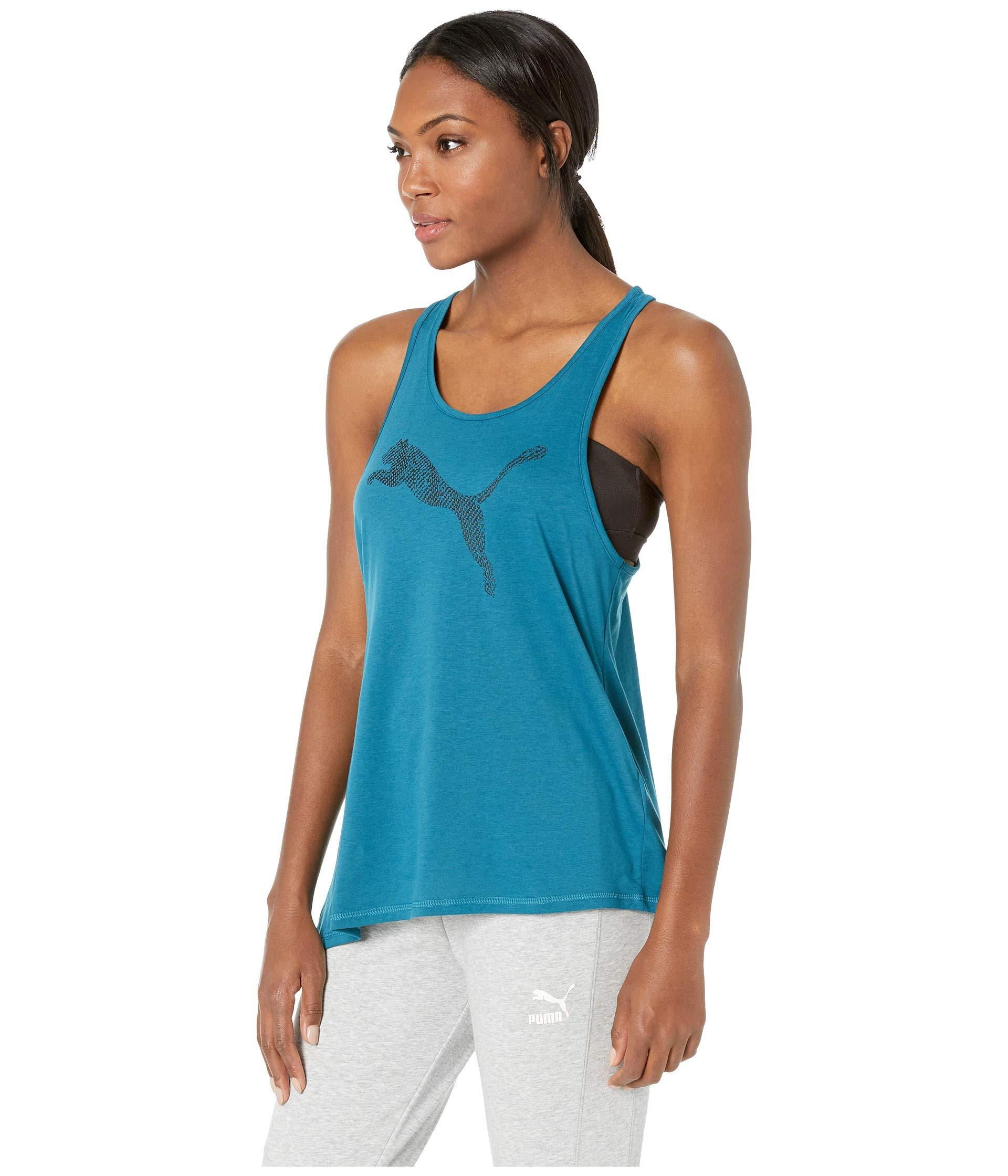 5de64241d08 Lyst - PUMA Holiday Tie Tank Top in Blue - Save 23%