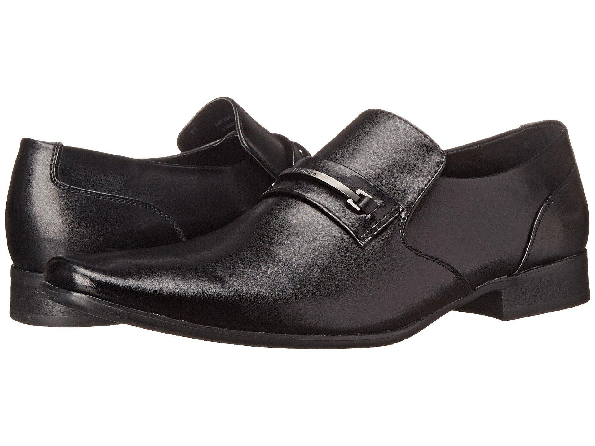 Mens Shoes Calvin Klein Brennan Black