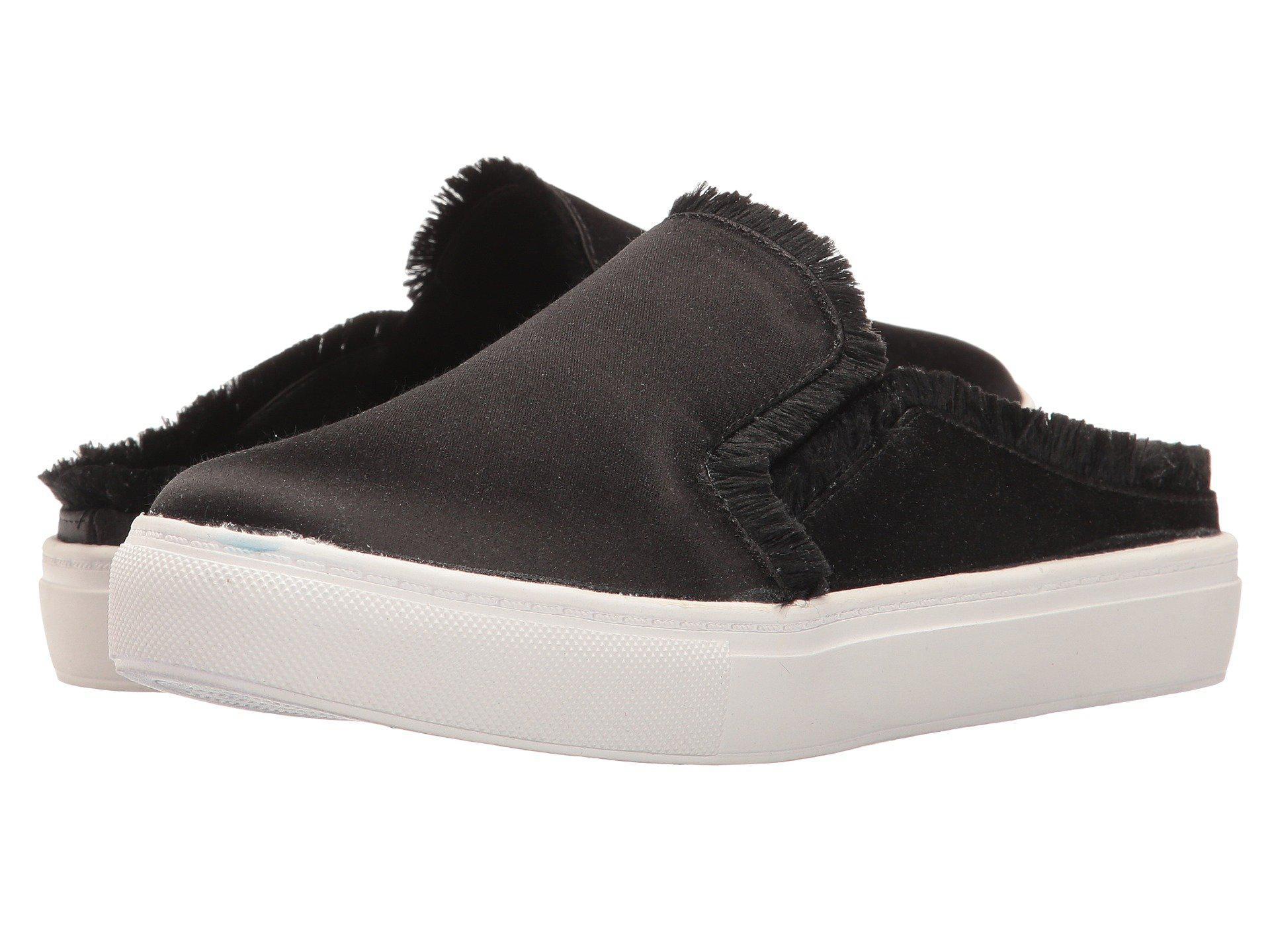 0cf8eafd8e8d45 Lyst - Dirty Laundry Jaxon Satin Mule Sneaker in Black - Save ...