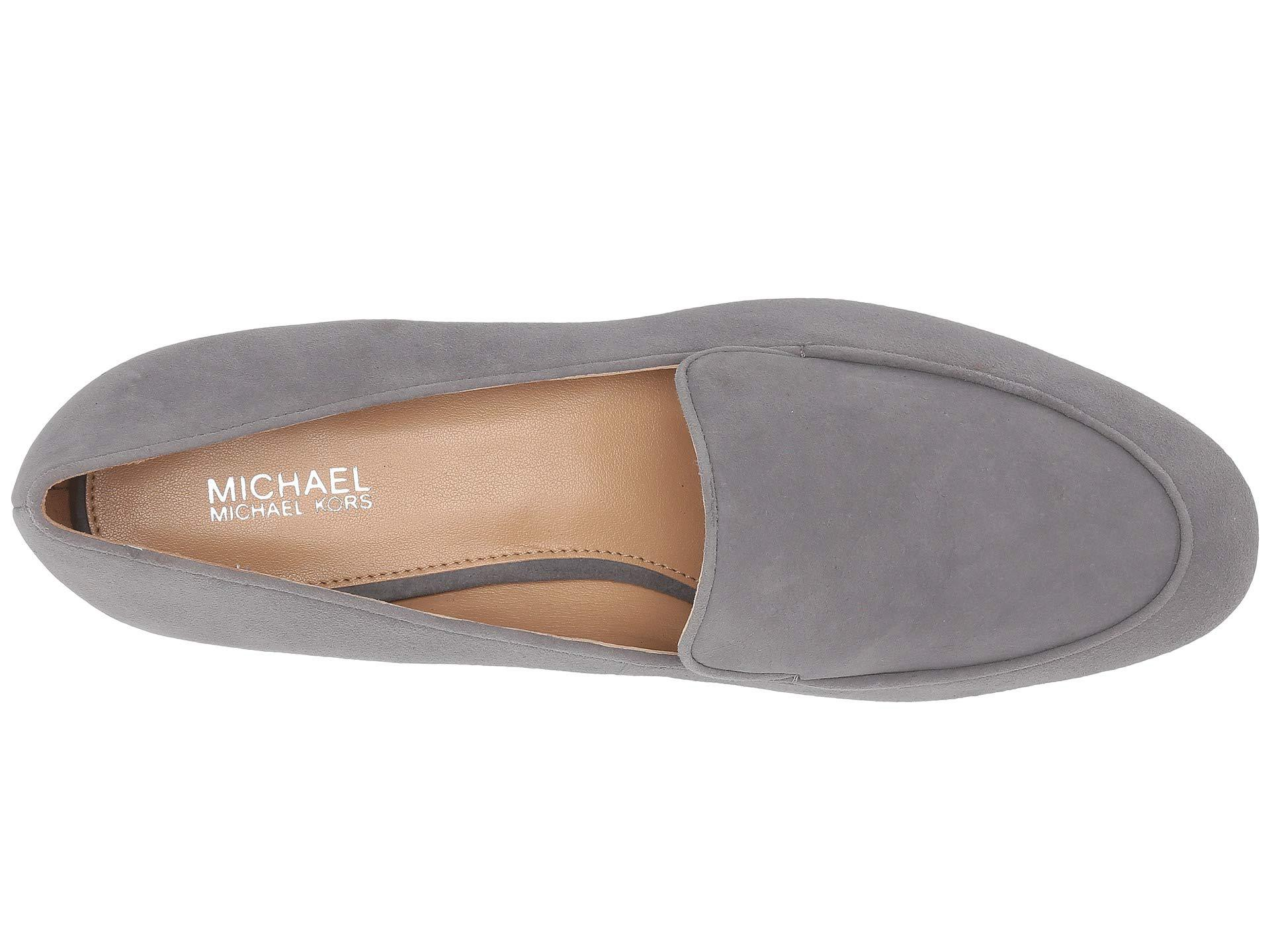 582fa7333a2 MICHAEL Michael Kors - Gray Valerie Slip-on - Lyst. View fullscreen