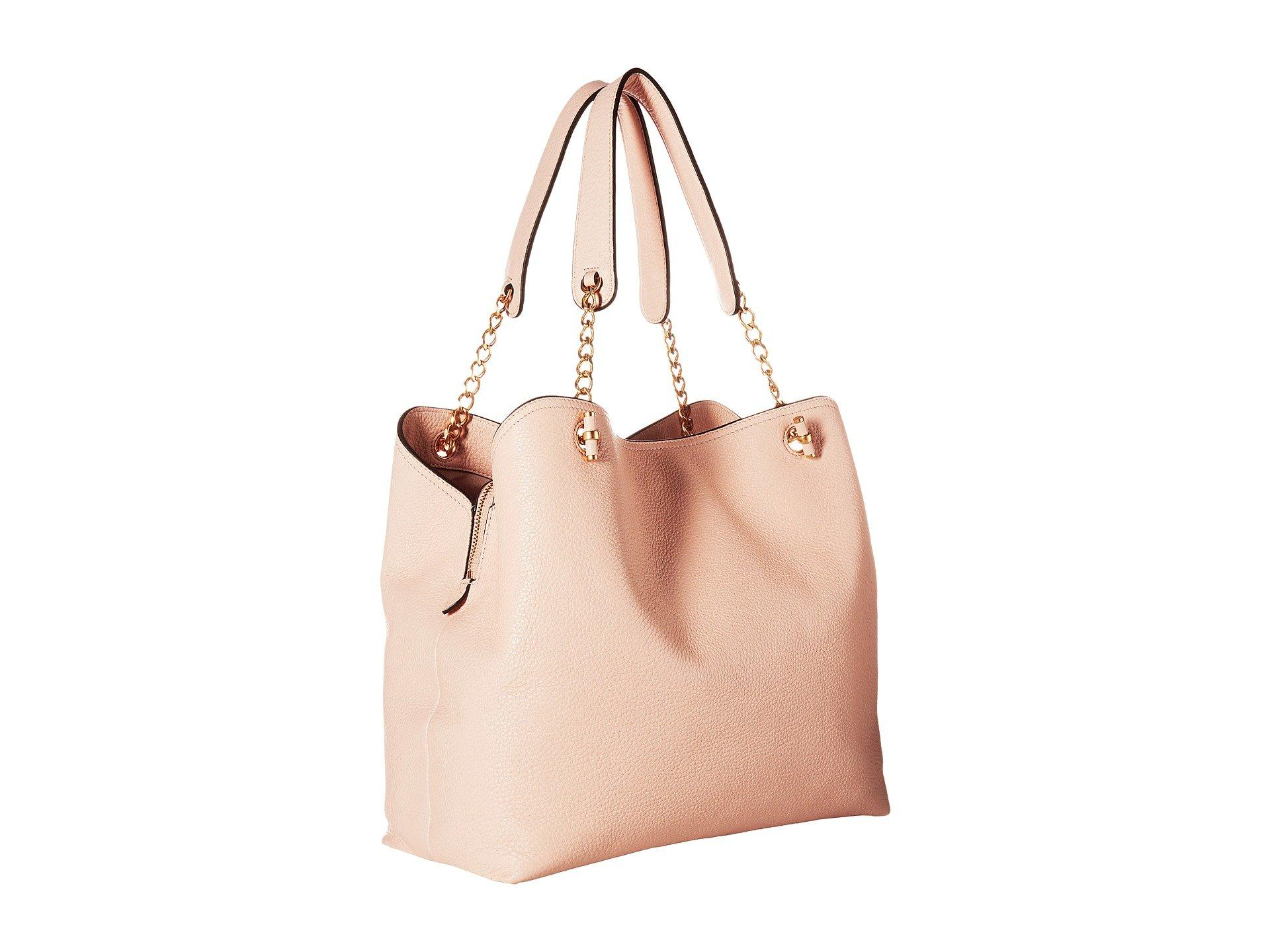 f4ce6833087 Lyst - Tory Burch Chelsea Slouchy Tote in Pink