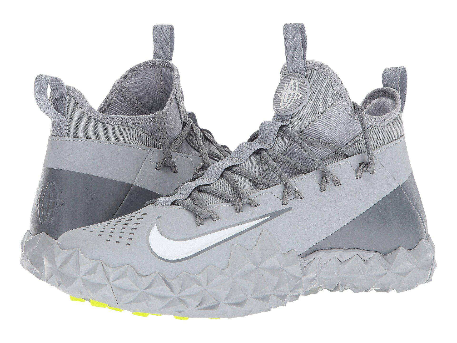 196cad1f0e36 Lyst - Nike Alpha Huarache 6 Elt Turf Lax in Gray for Men