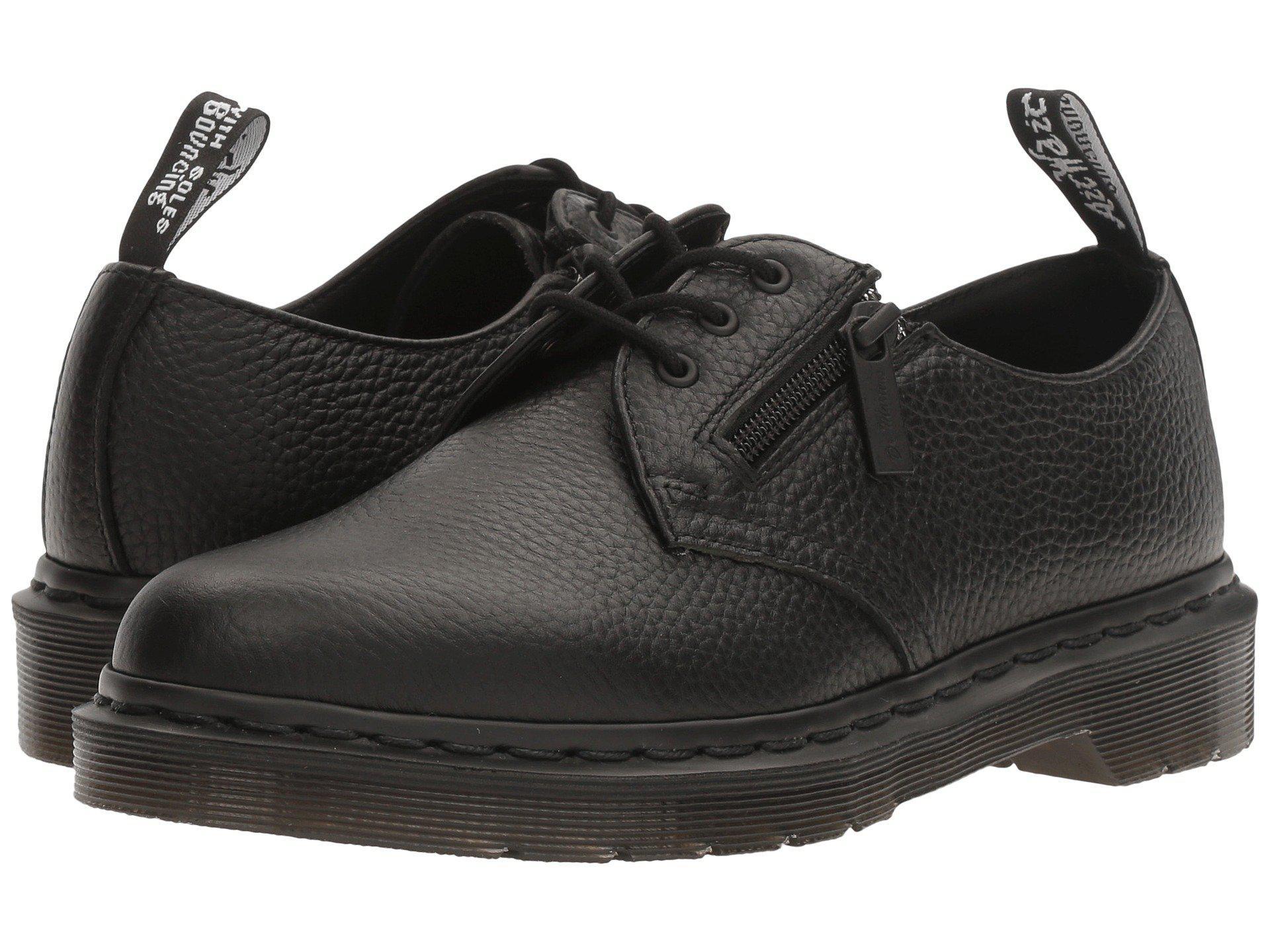 Dr. Martens. Men's Black 1461 W/ Zip