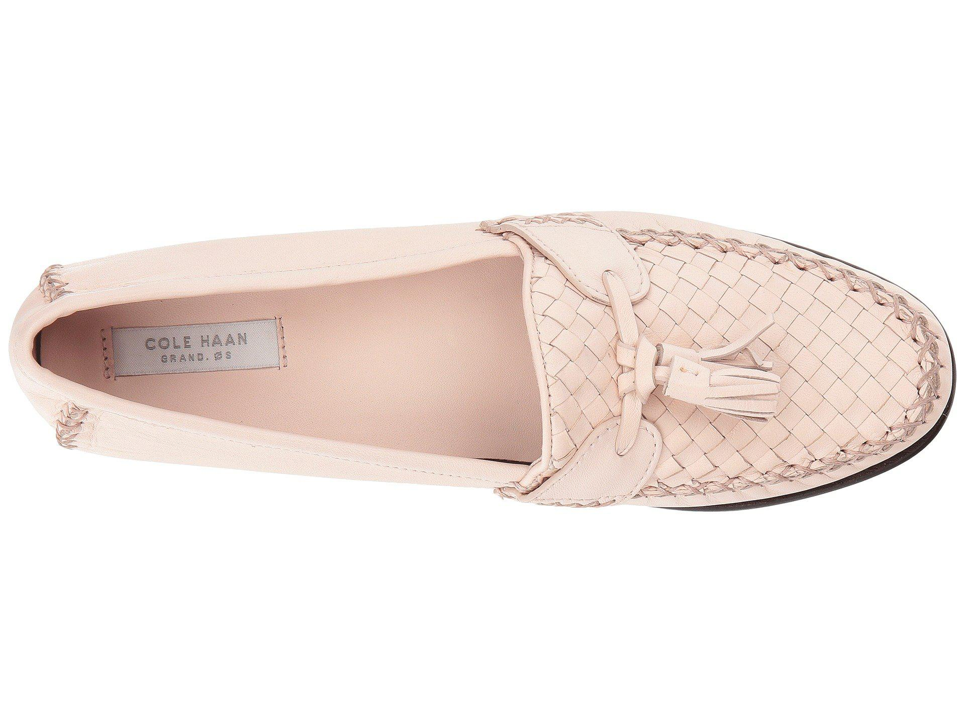 9c49190baee Cole Haan - Pink Jagger Soft Weave Loafer - Lyst. View fullscreen