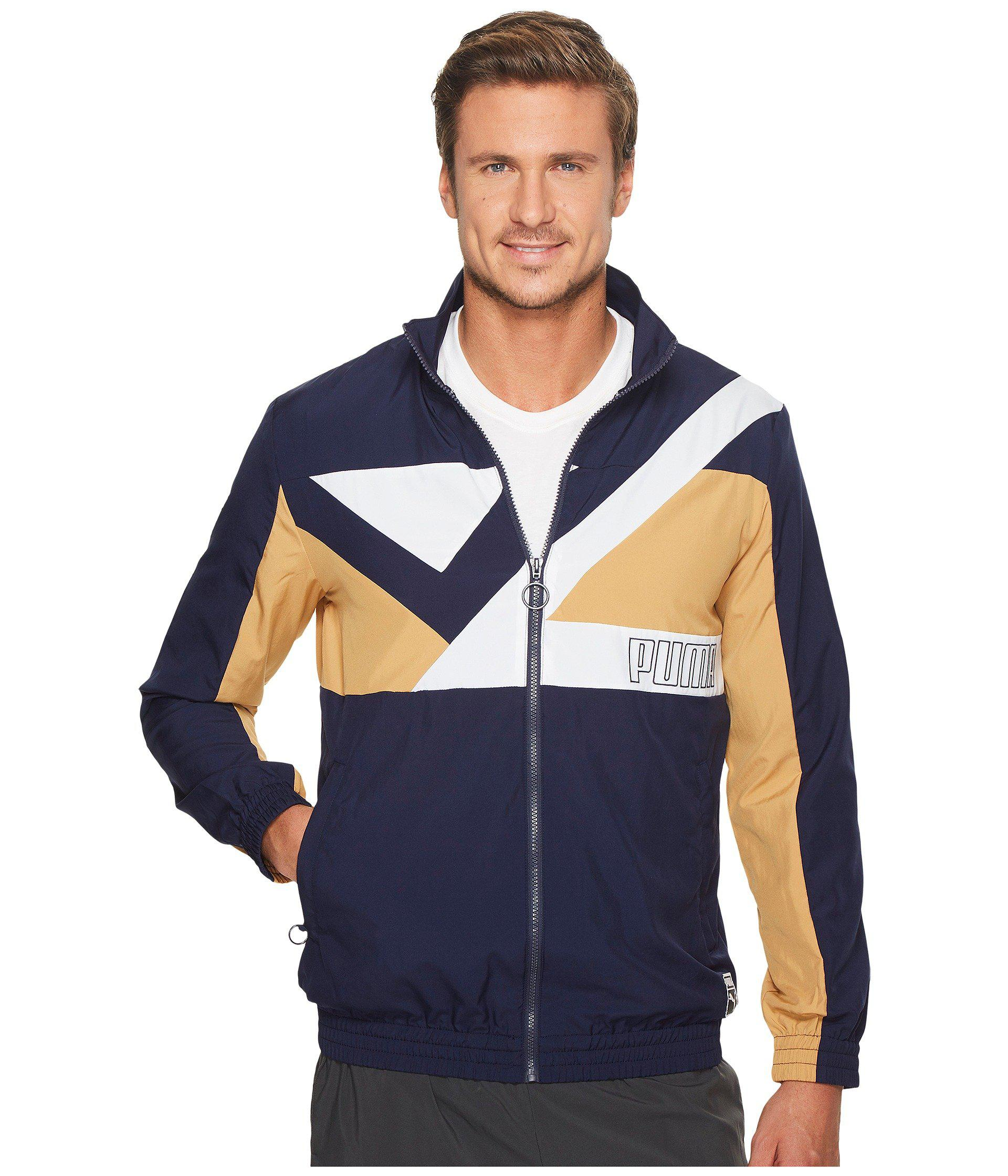 4c3ee3285016 Lyst - PUMA Record Track Jacket in Blue for Men - Save 35%