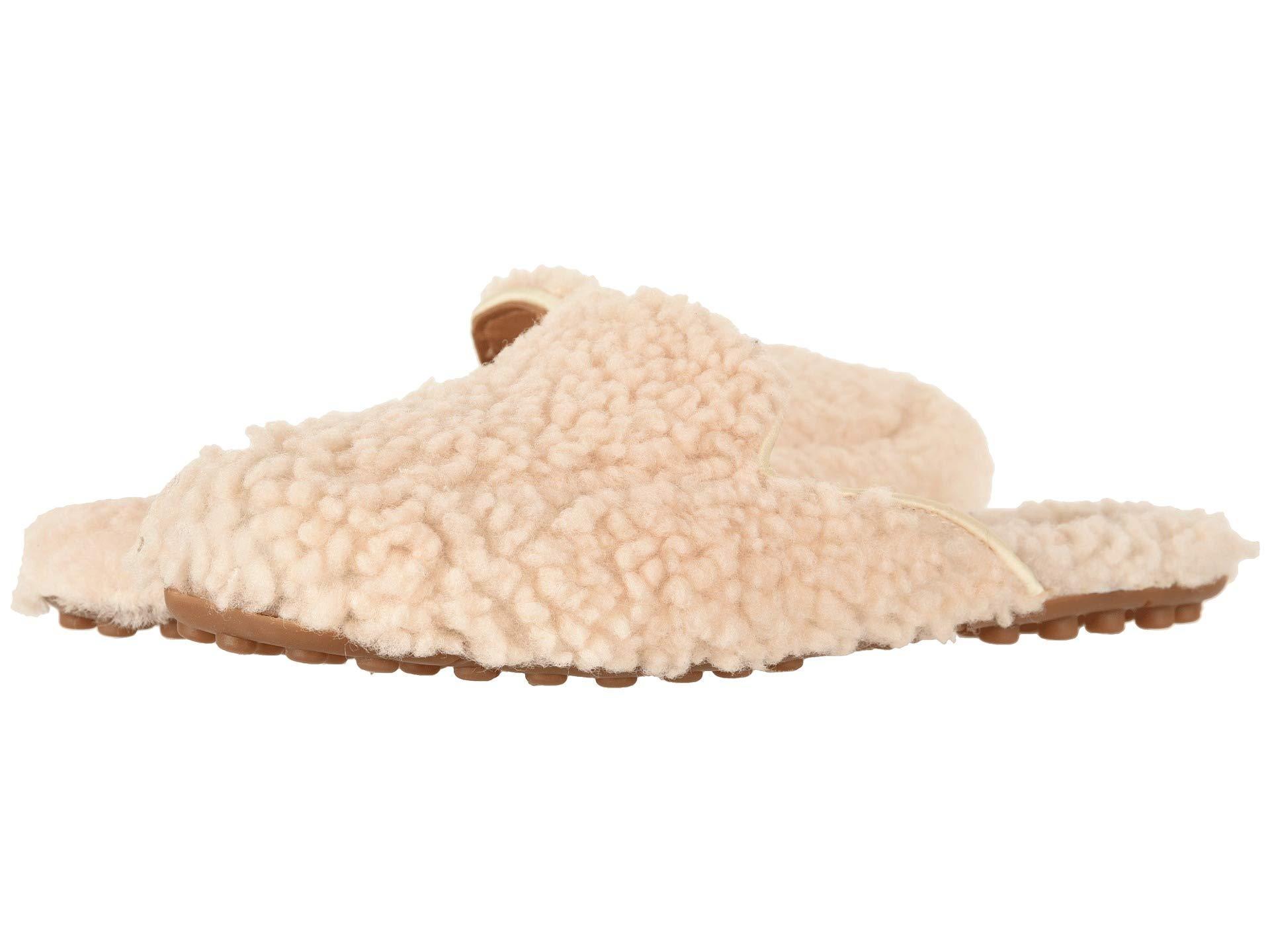 3c36ab2e1 Lyst - UGG Lane Fluff Loafer in Natural
